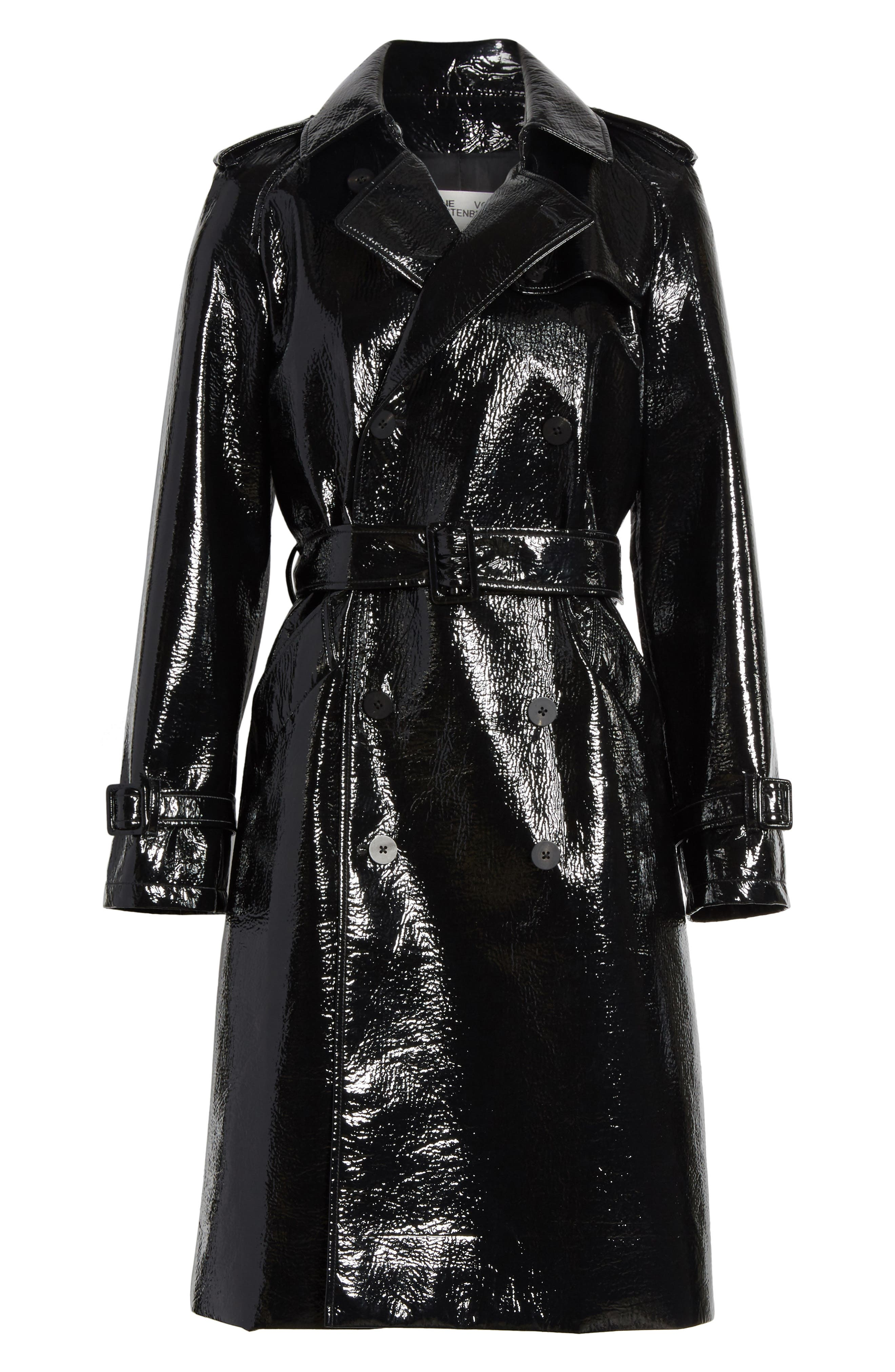 Alternate Image 5  - Diane von Furstenberg Patent Trench Coat
