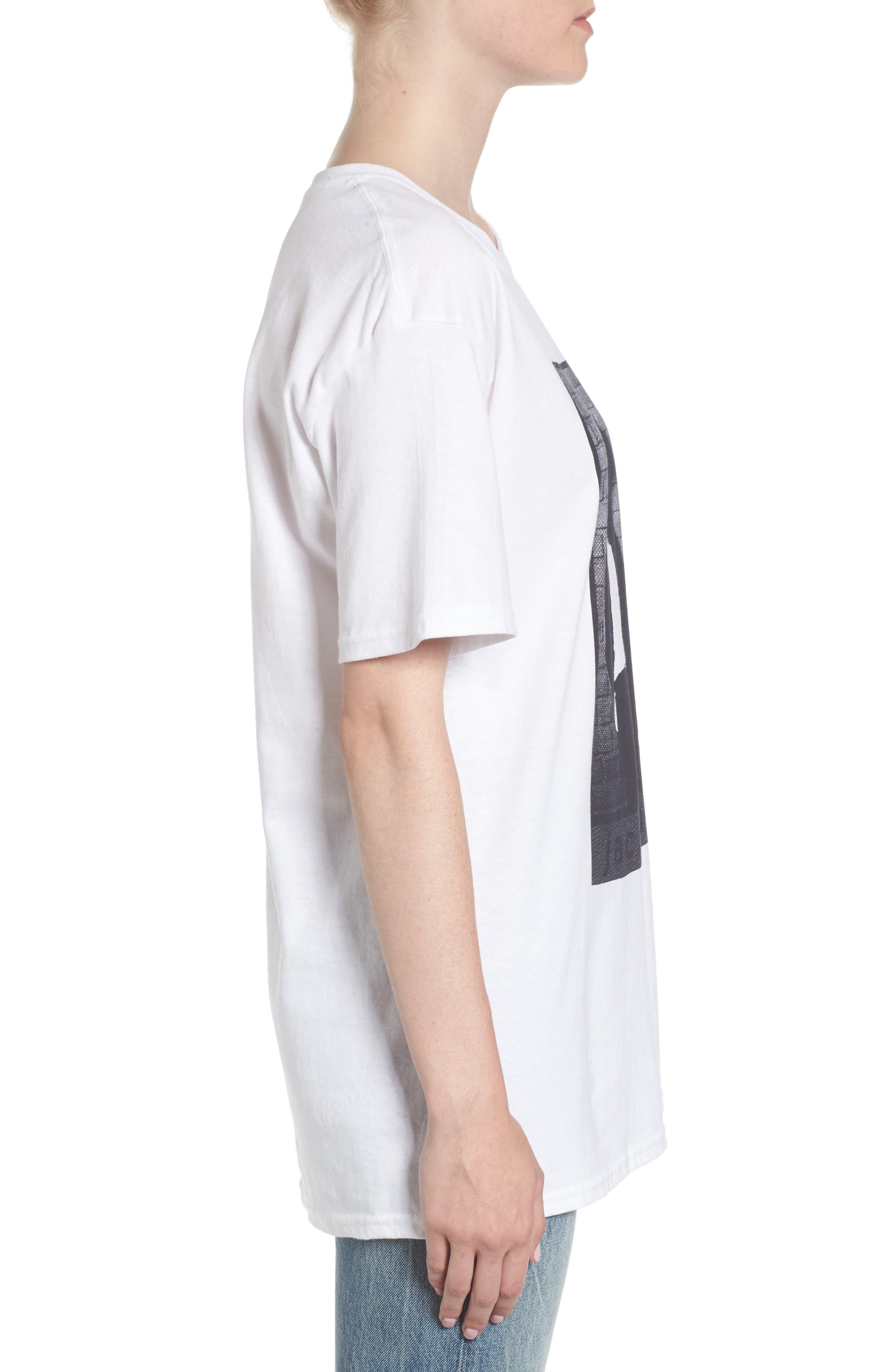 Michael Jackson T-Shirt,                             Alternate thumbnail 3, color,                             White