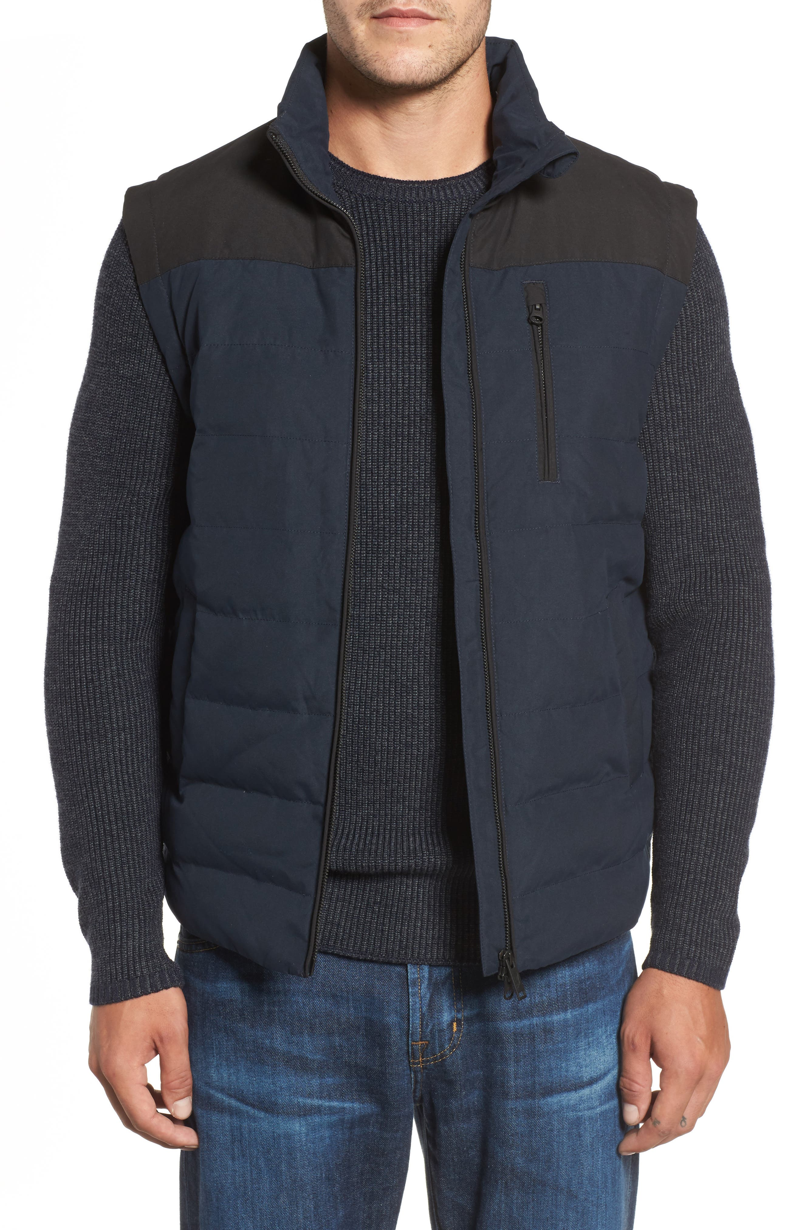 Stillwater Quilted Vest,                             Main thumbnail 1, color,                             Eclipse