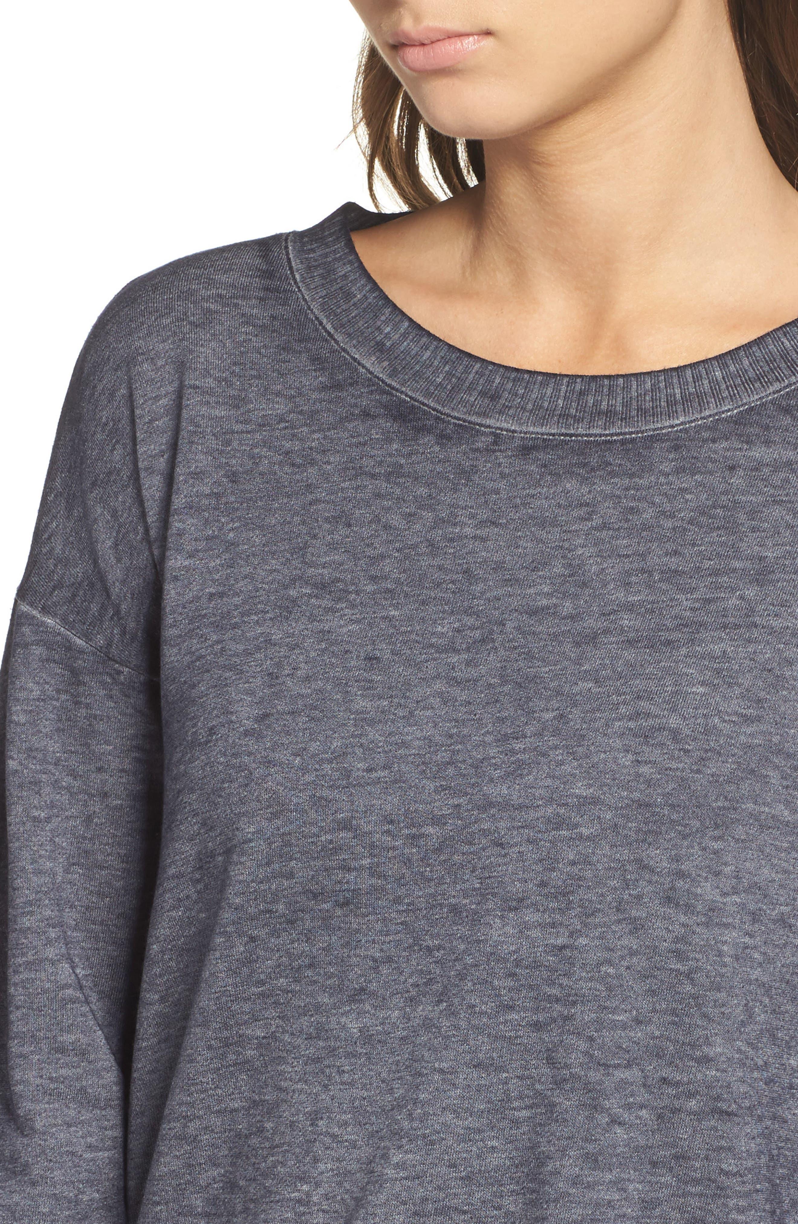Alternate Image 6  - Josie Sunset Blvd Pullover Sweatshirt
