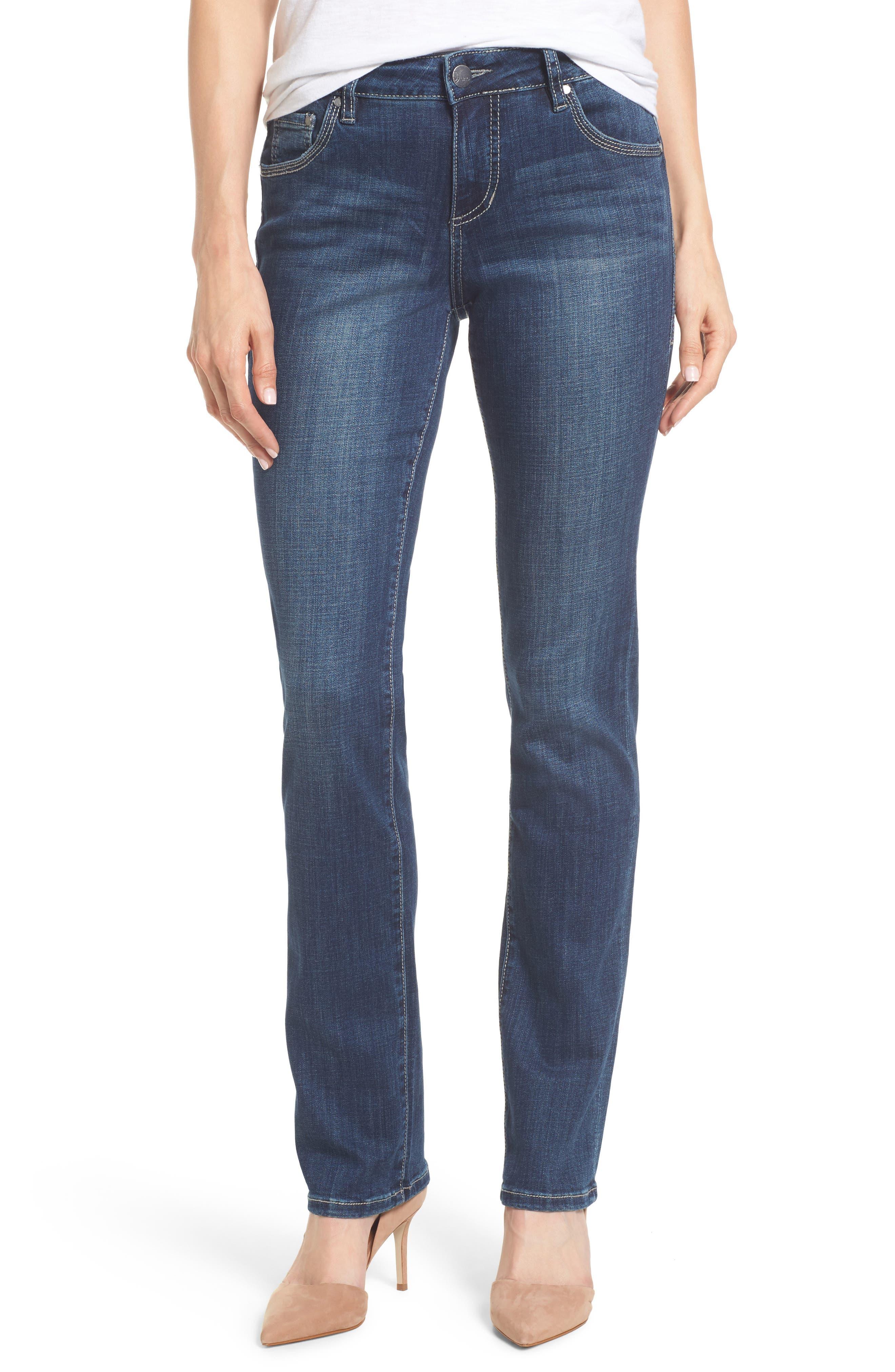Adrian Straight Leg Jeans,                             Main thumbnail 1, color,                             Thorne Blue
