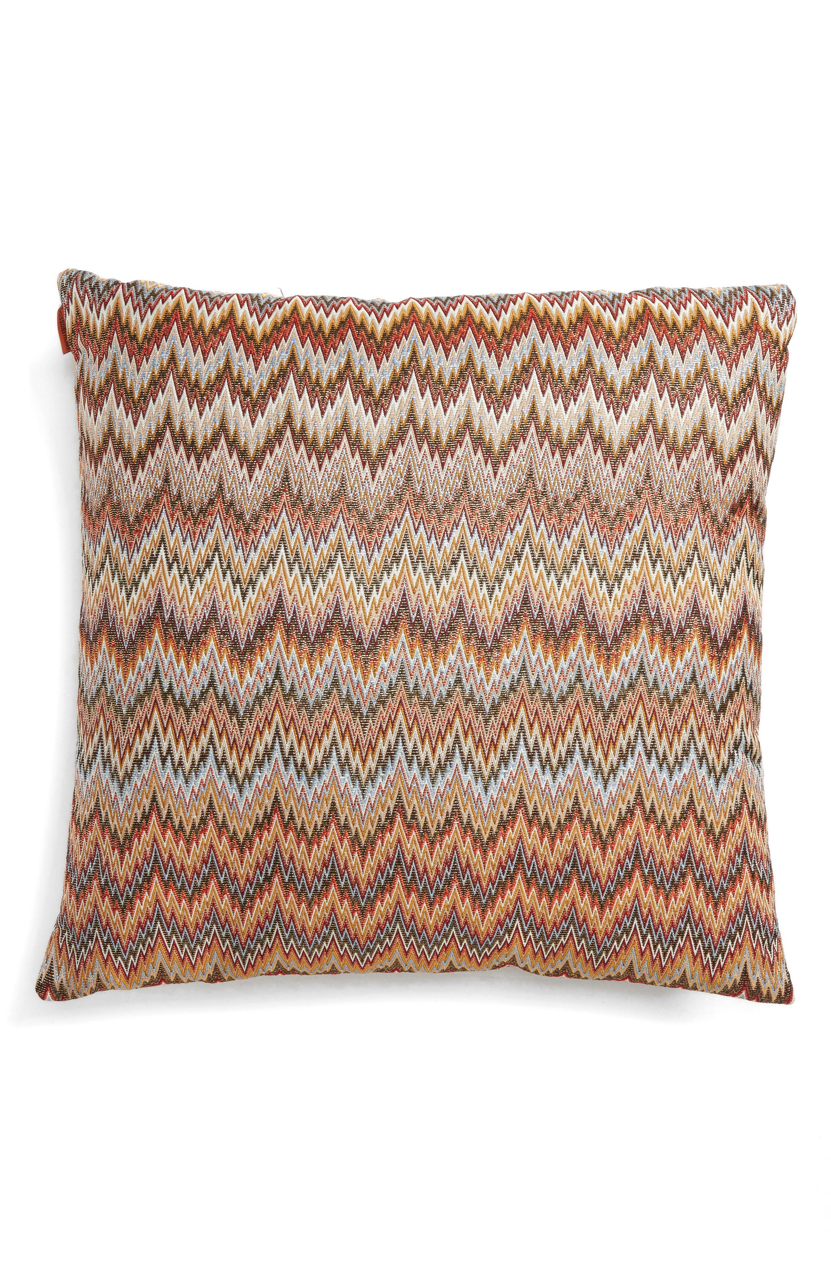 Plaisir Accent Pillow,                         Main,                         color, Multi Red