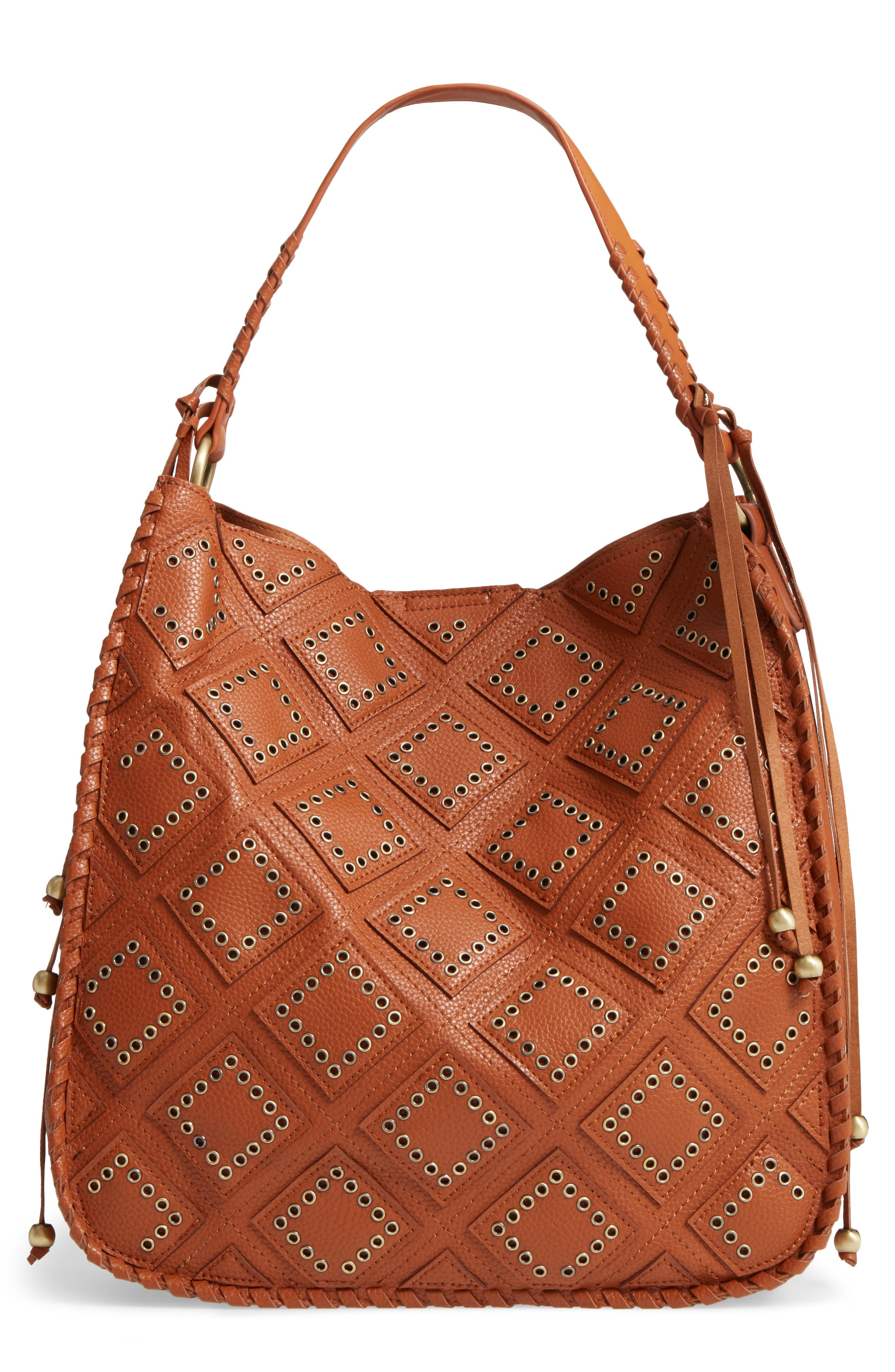 Shiraleah Skylar Faux Leather Hobo