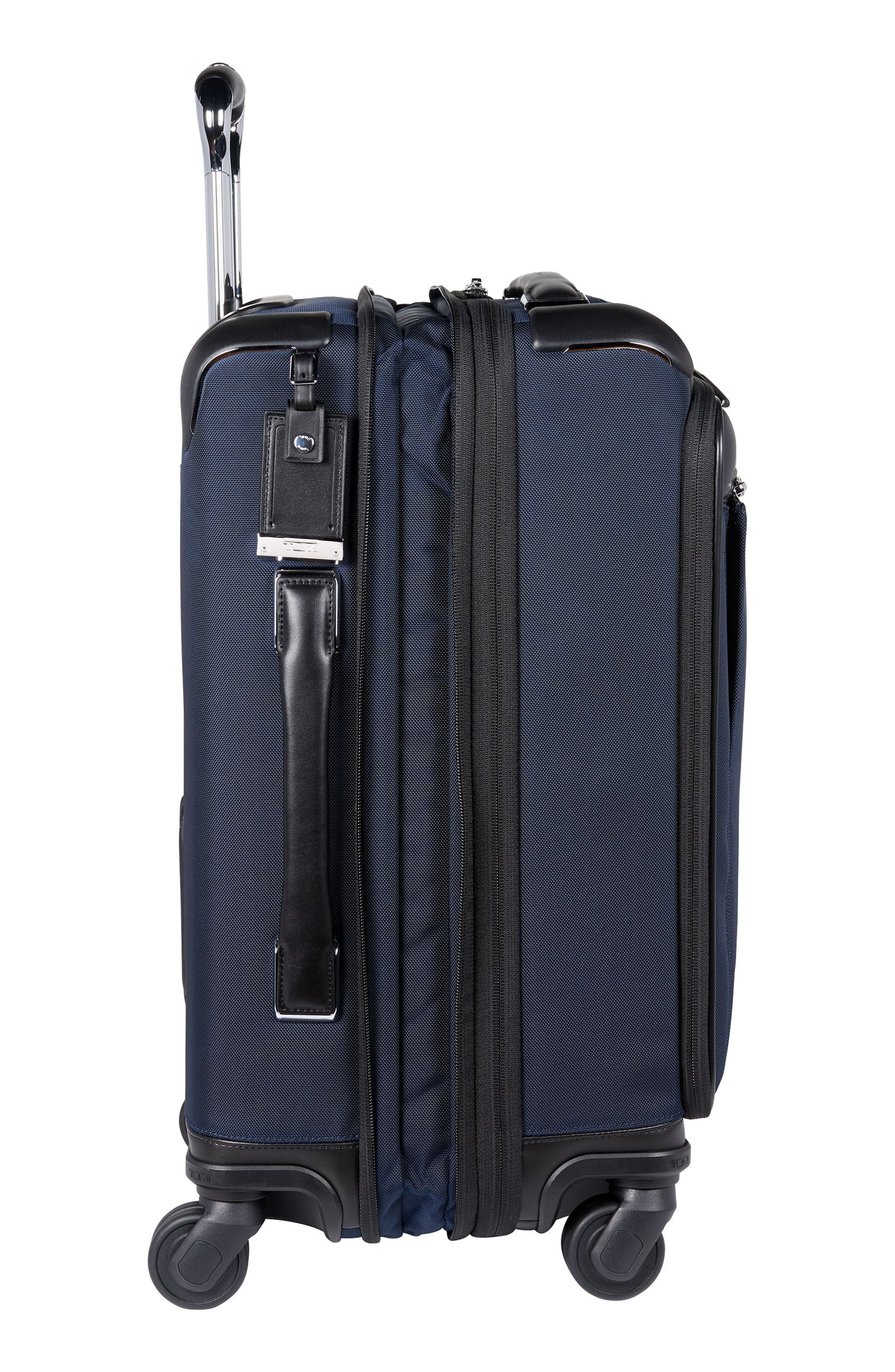 Gatwick 22-Inch International Expandable Carry-On,                             Alternate thumbnail 4, color,                             Navy