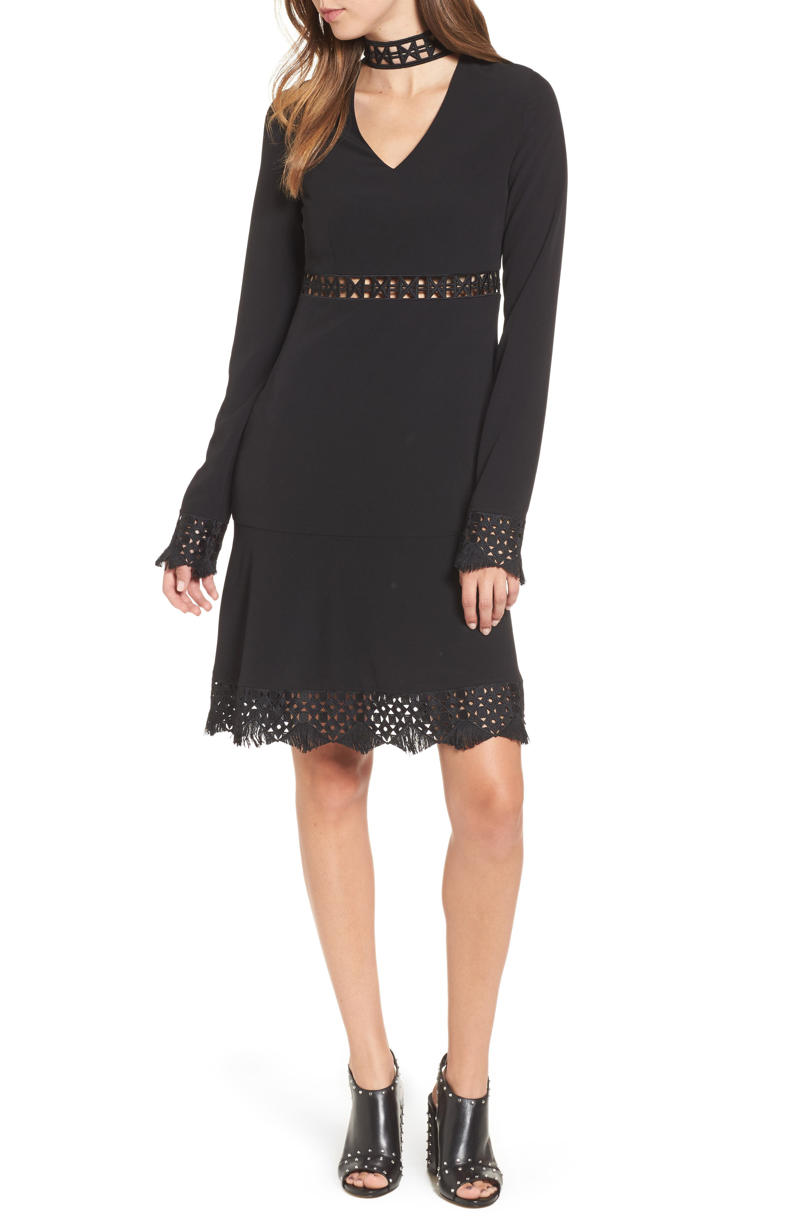 Alternate Image 1 Selected - SuperTrash Dacy Choker Dress