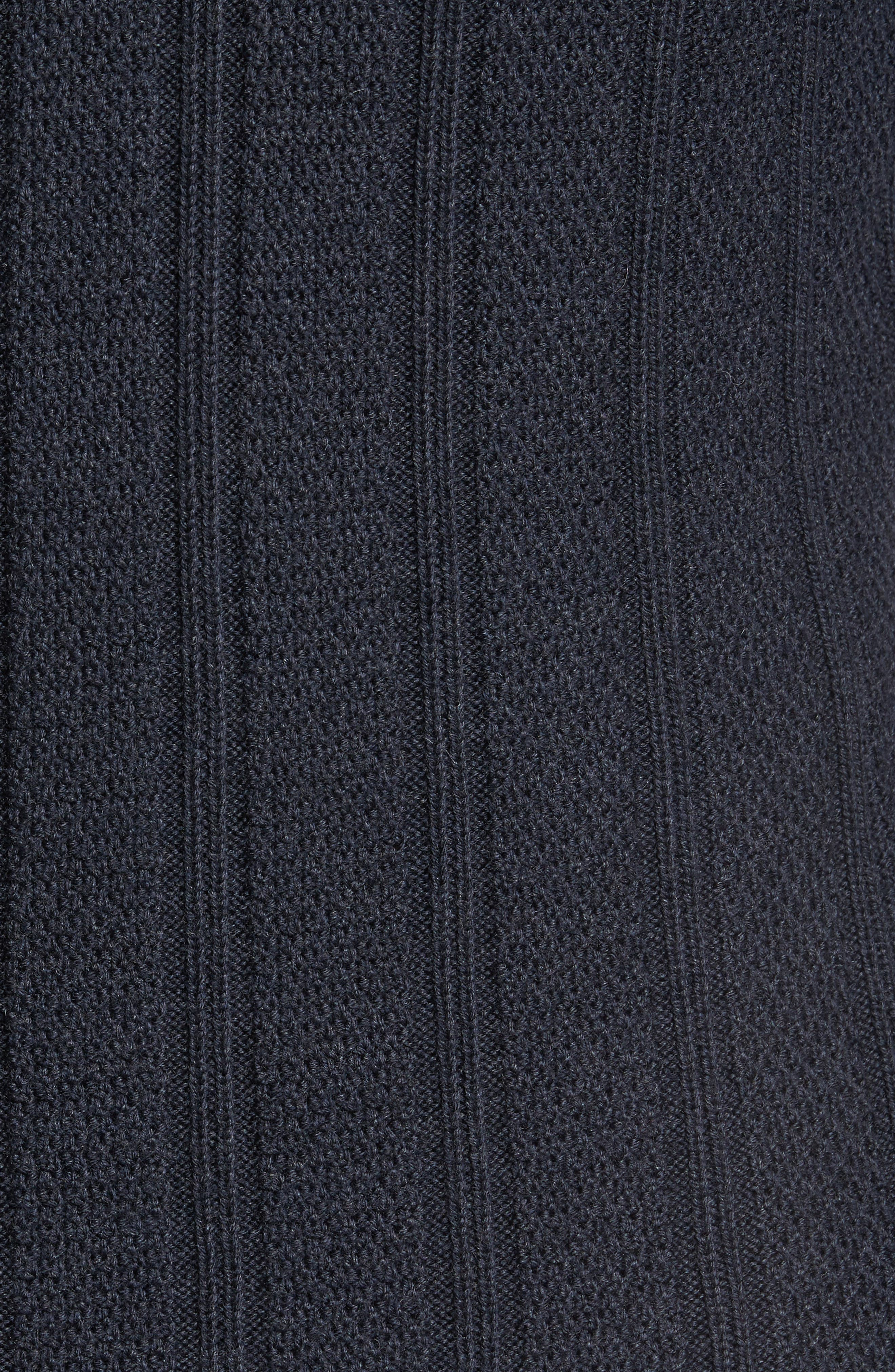 Sovereign Island Wool Sweater,                             Alternate thumbnail 5, color,                             Midnight