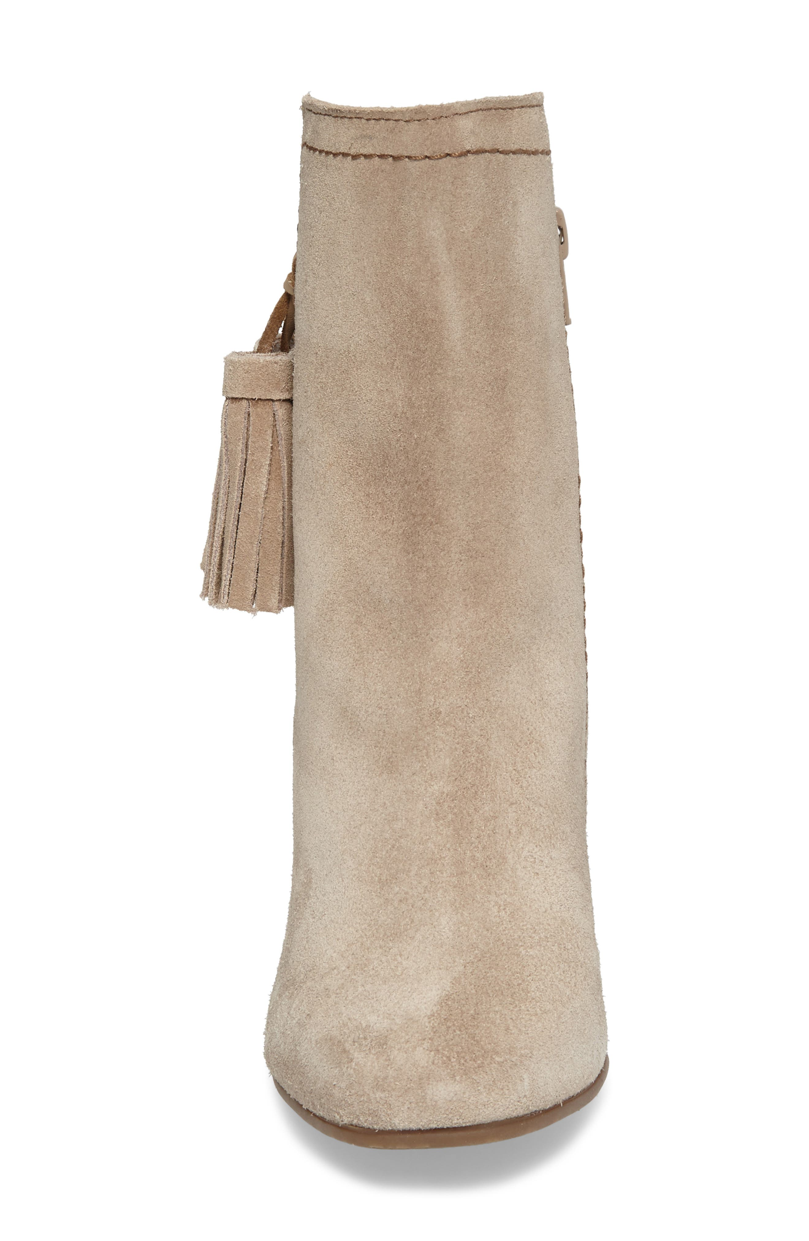 Daisee Billie Bootie,                             Alternate thumbnail 4, color,                             Taupe Suede