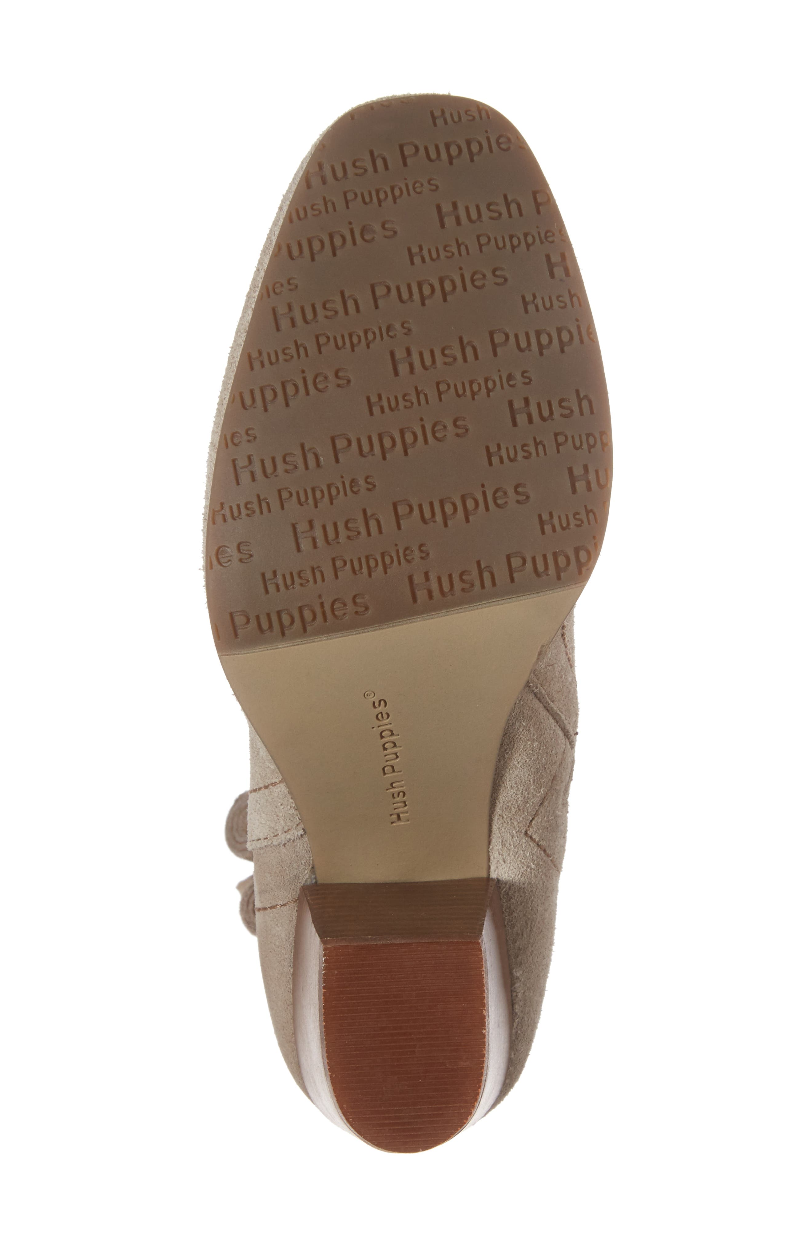 Daisee Billie Bootie,                             Alternate thumbnail 6, color,                             Taupe Suede