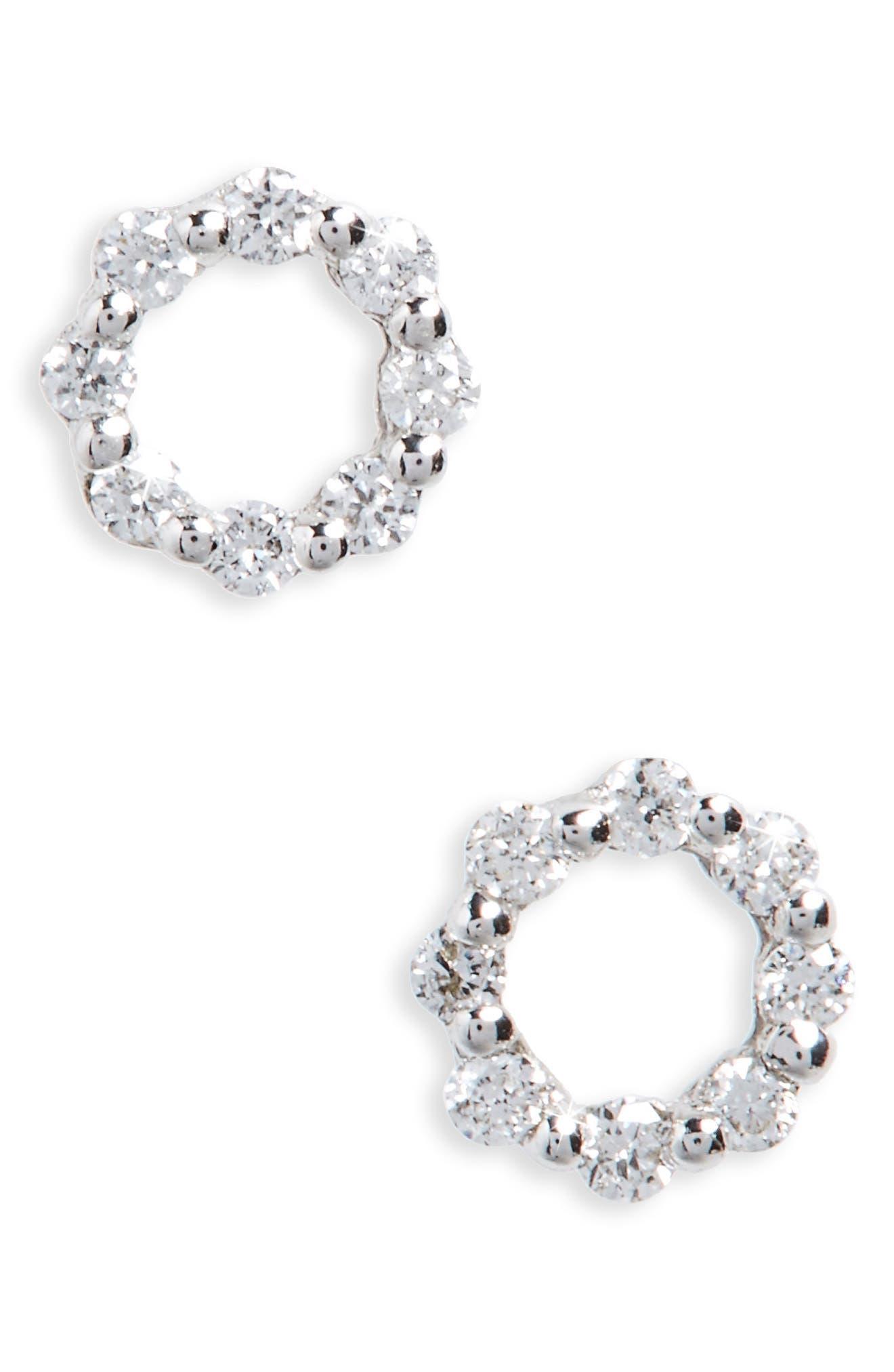 Bony Levy Simple Obsessions Diamond Stud Earrings
