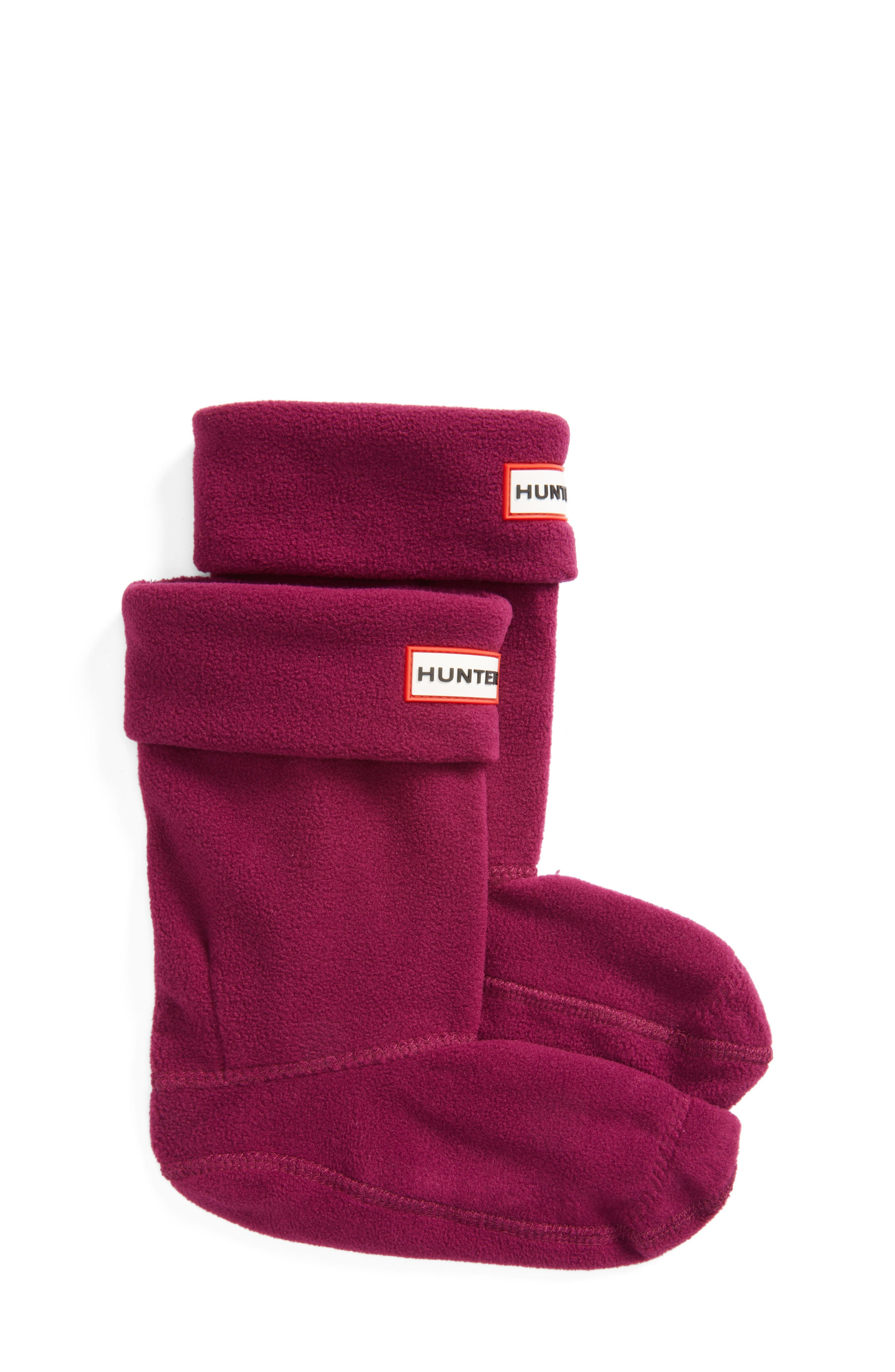 Hunter Fleece Welly Boot Socks (Walker, Toddler, Little Kid & Big Kid)