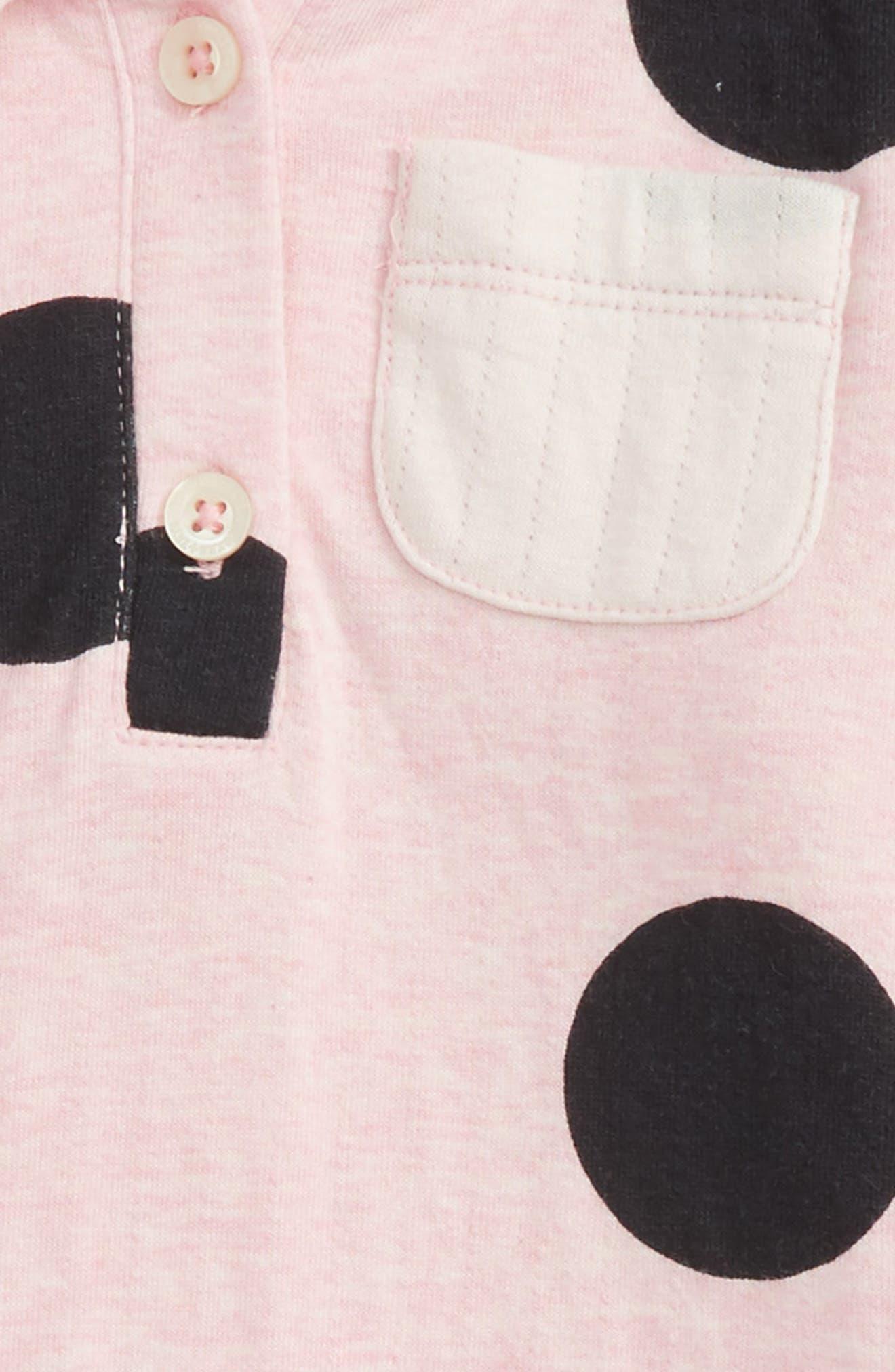 Alternate Image 2  - Tucker + Tate Hooded Dress (Baby Girls)