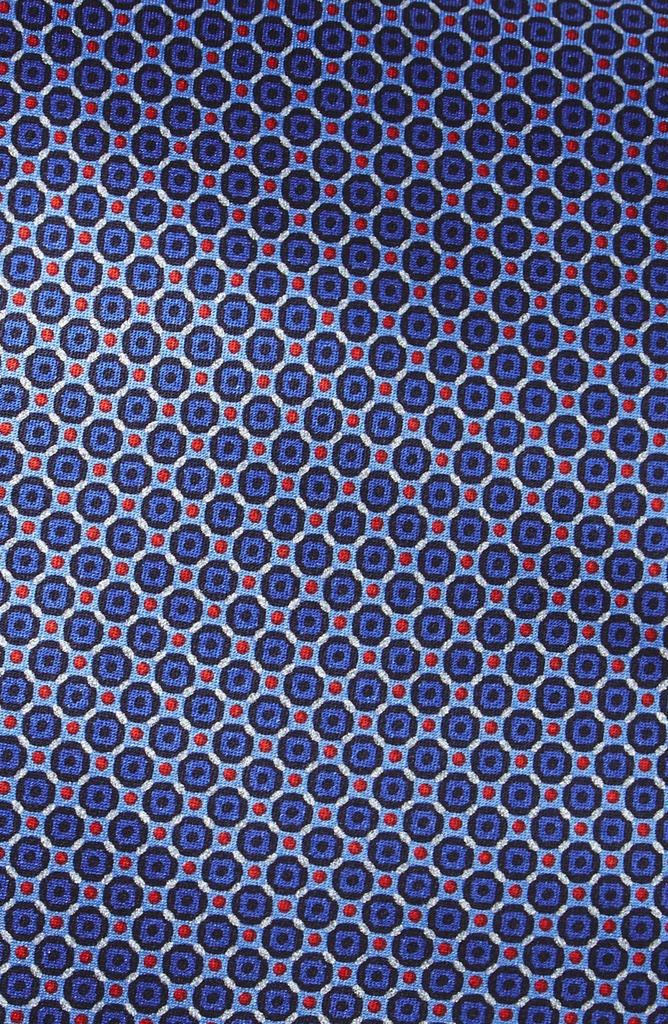 Alternate Image 2  - Canali Geometric Silk Tie