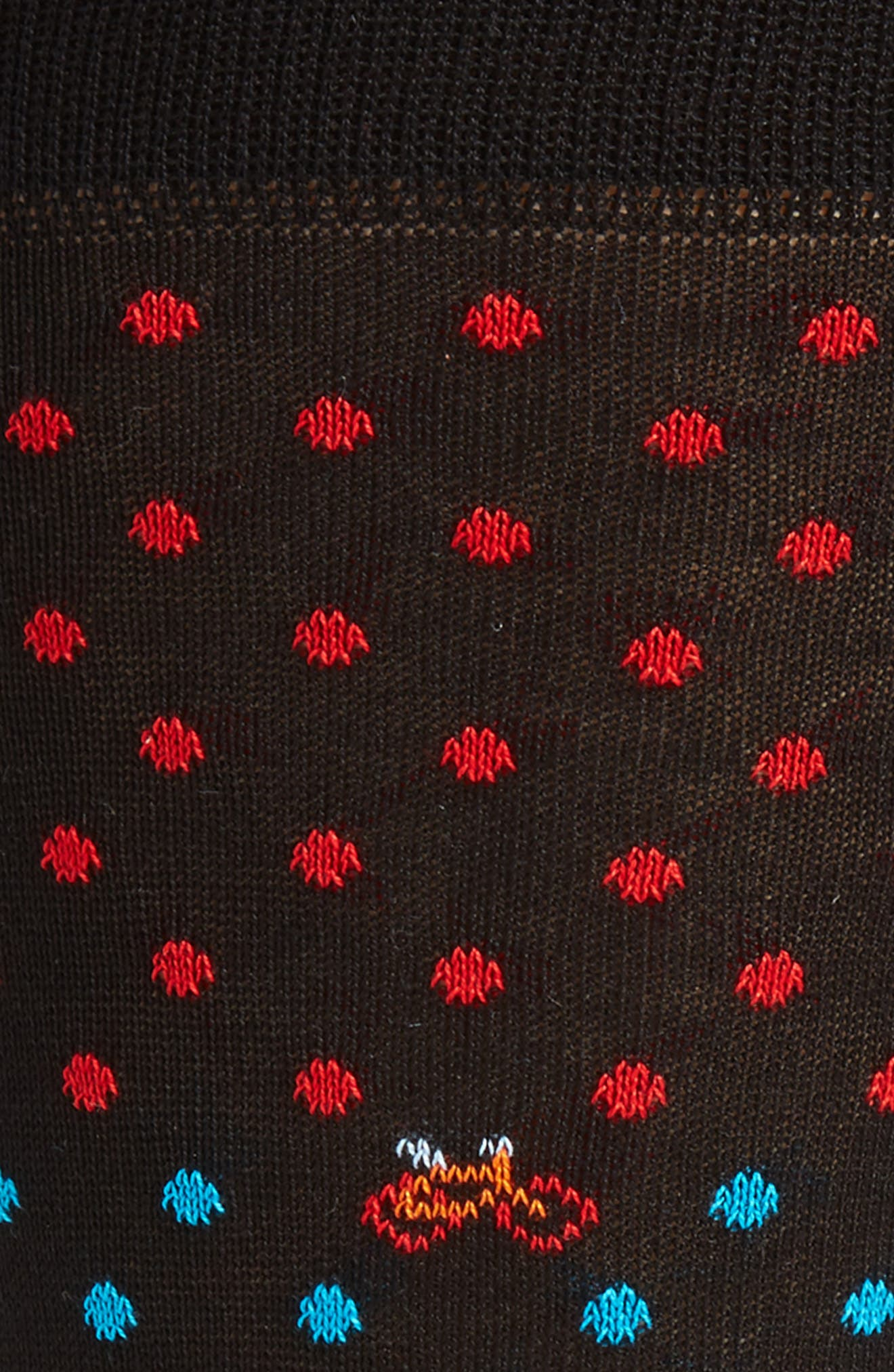 Alternate Image 2  - Bugatchi Dot Bike Socks