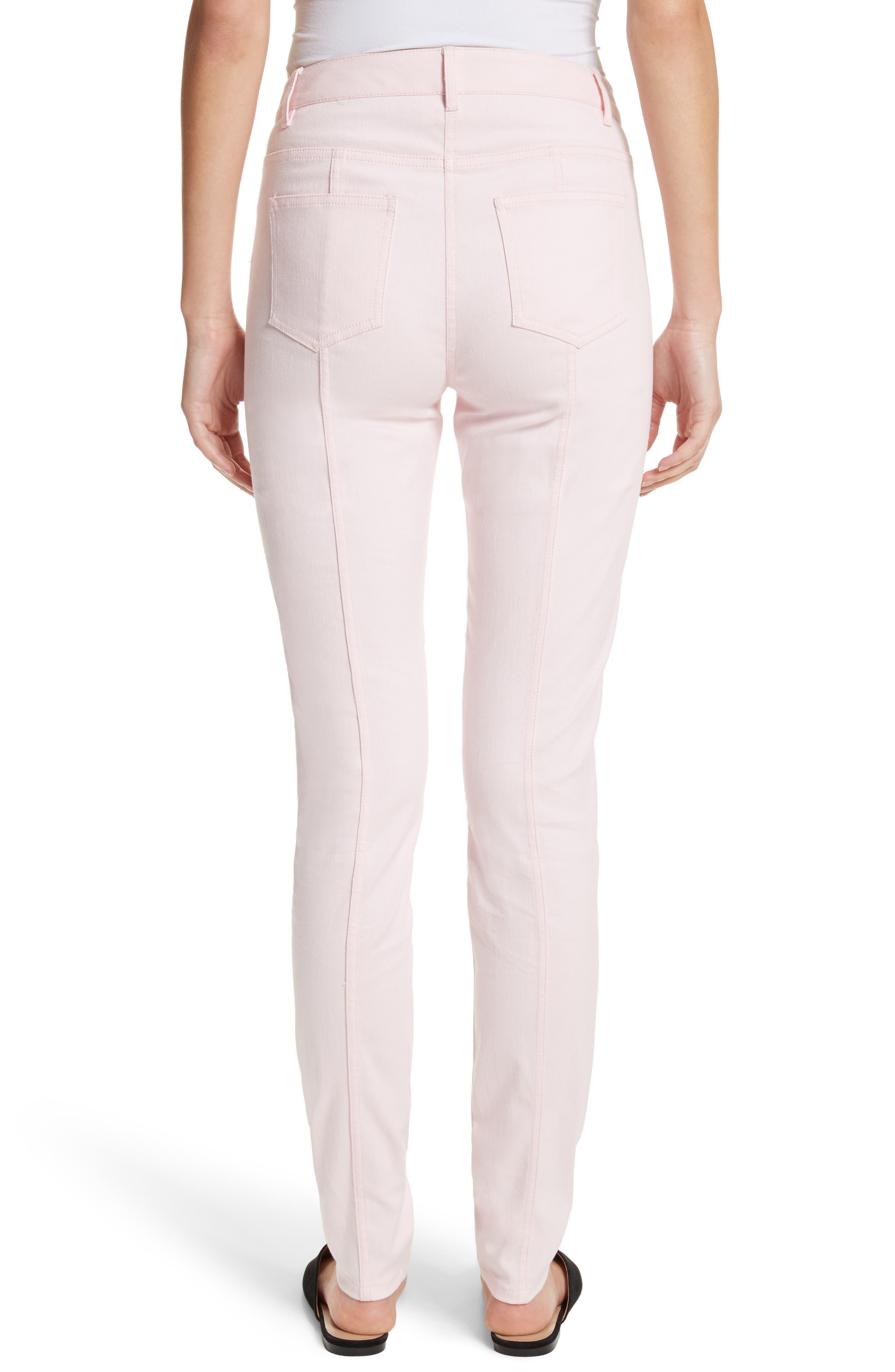 Alternate Image 2  - St. John Collection Bardot Double Dye Stretch Jeans
