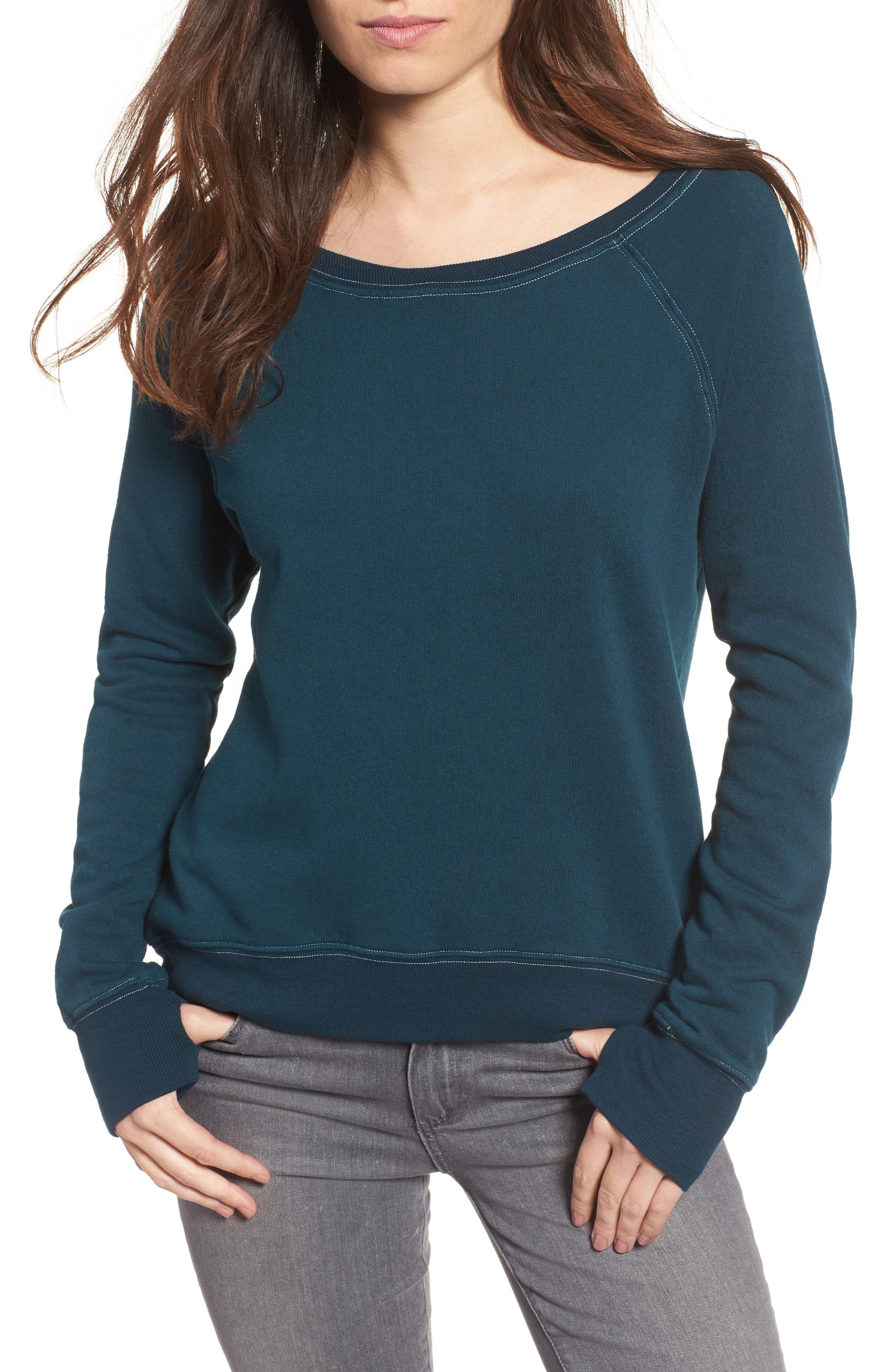 Pam & Gela Annie High/Low Sweatshirt