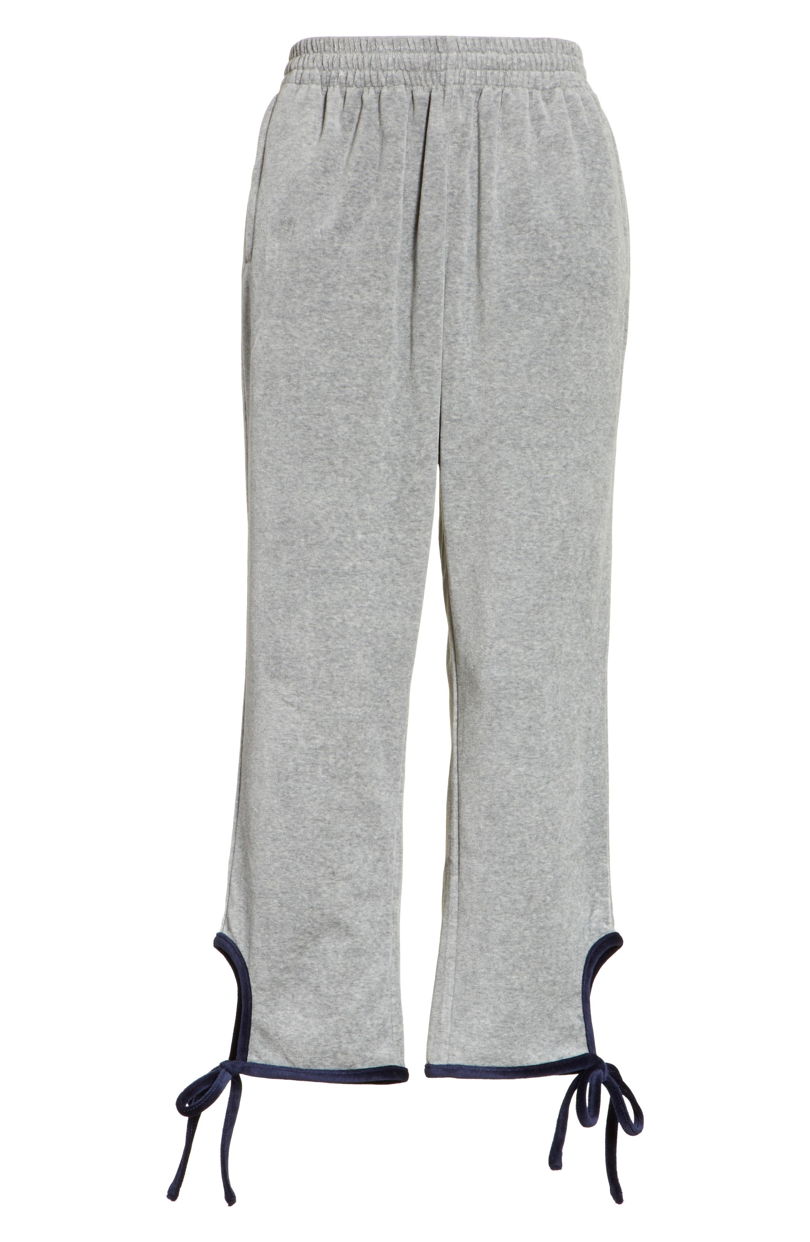Alternate Image 7  - Opening Ceremony Velour Tie Track Pants