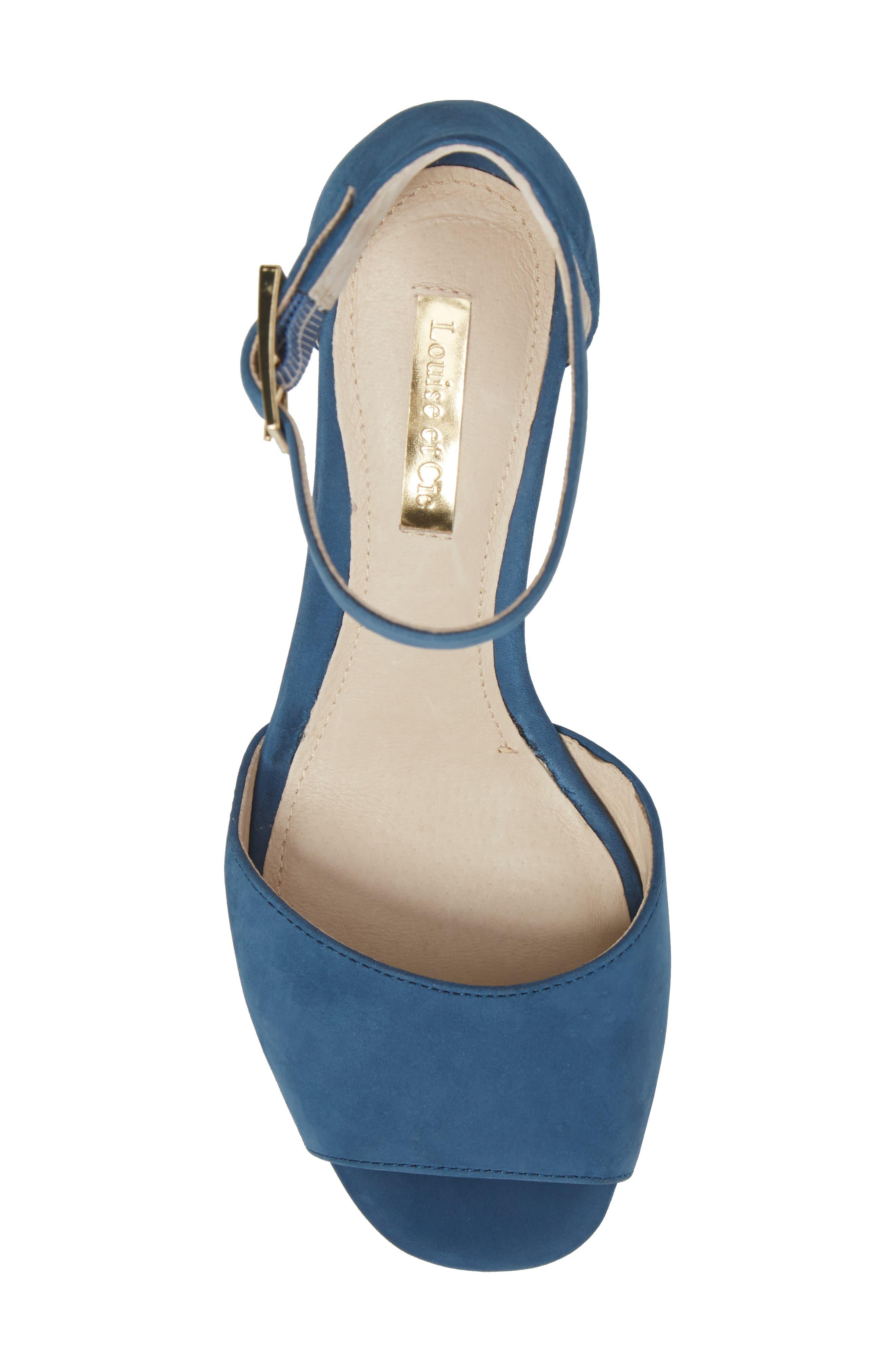 Alternate Image 5  - Louise et Cie Karisa Ankle Cuff Sandal (Women)