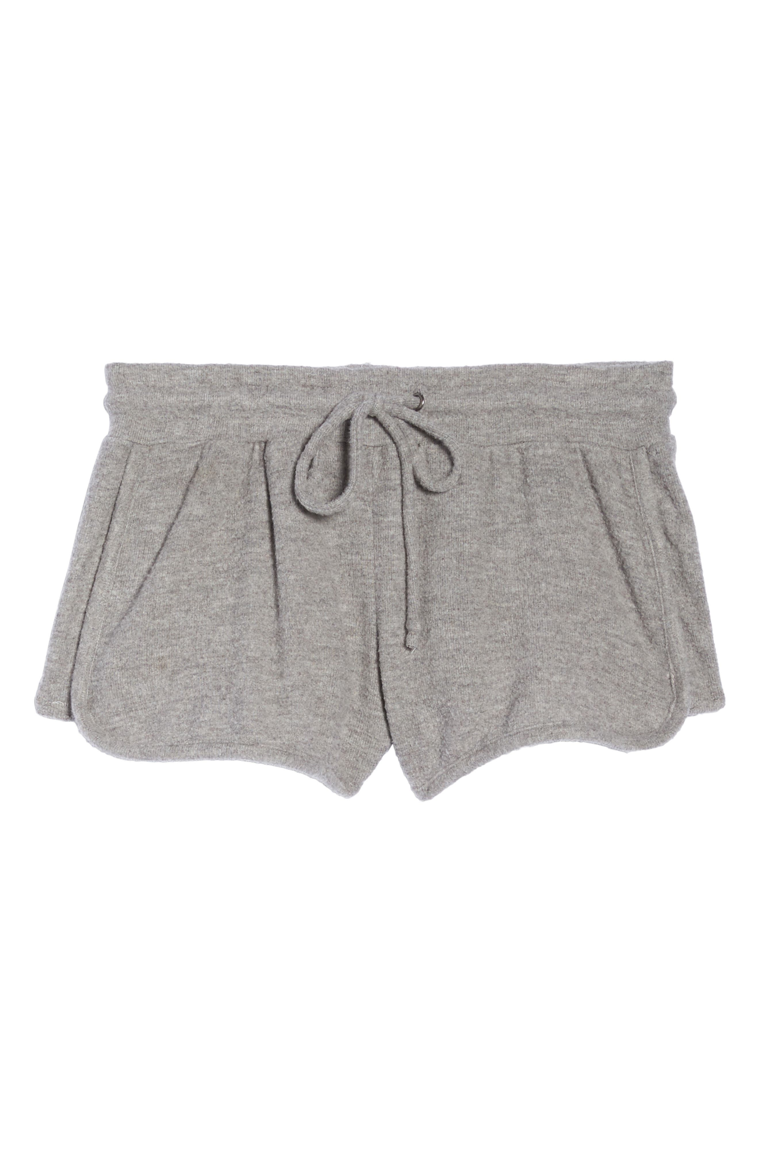 Love Shorts,                             Alternate thumbnail 4, color,                             Heather Grey