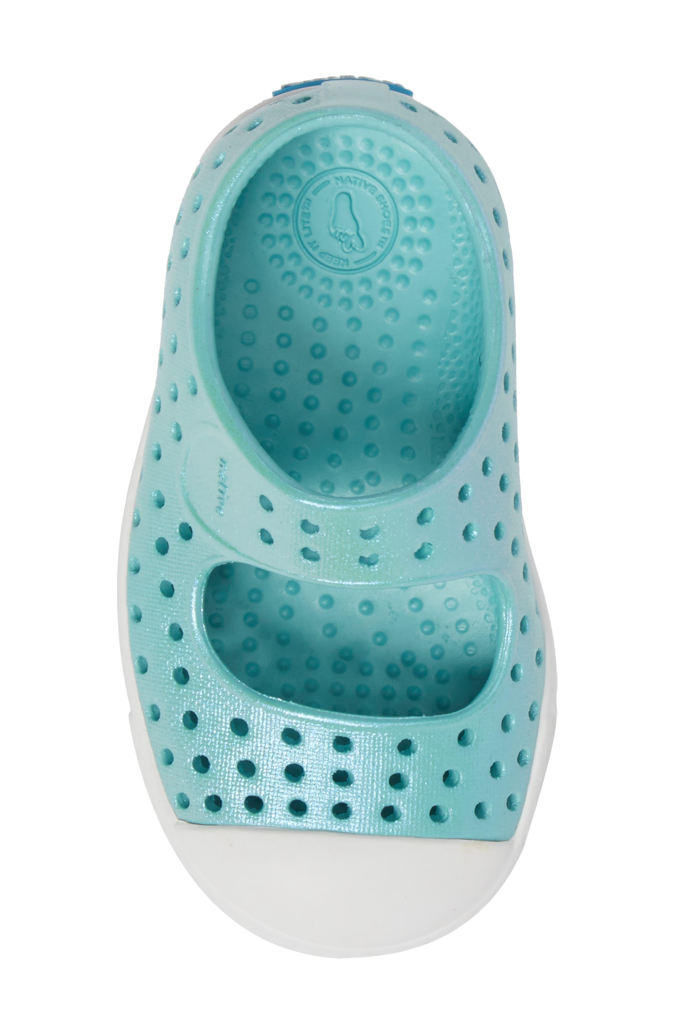 Alternate Image 5  - Native Shoes Juniper Perforated Mary Jane (Baby, Walker, Toddler & Little Kid)