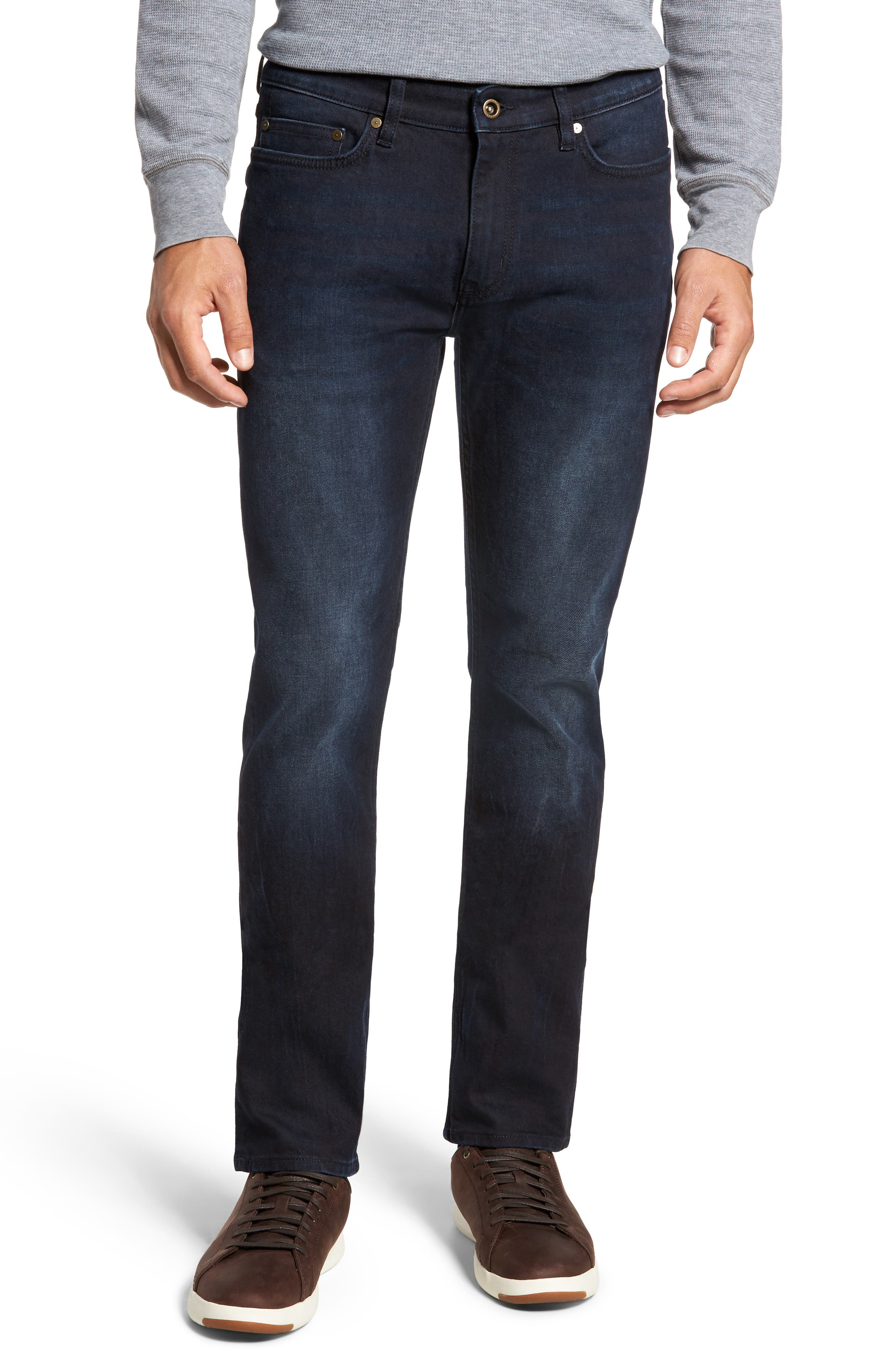 Mapleton Slim Fit Jeans,                             Main thumbnail 1, color,                             Denim