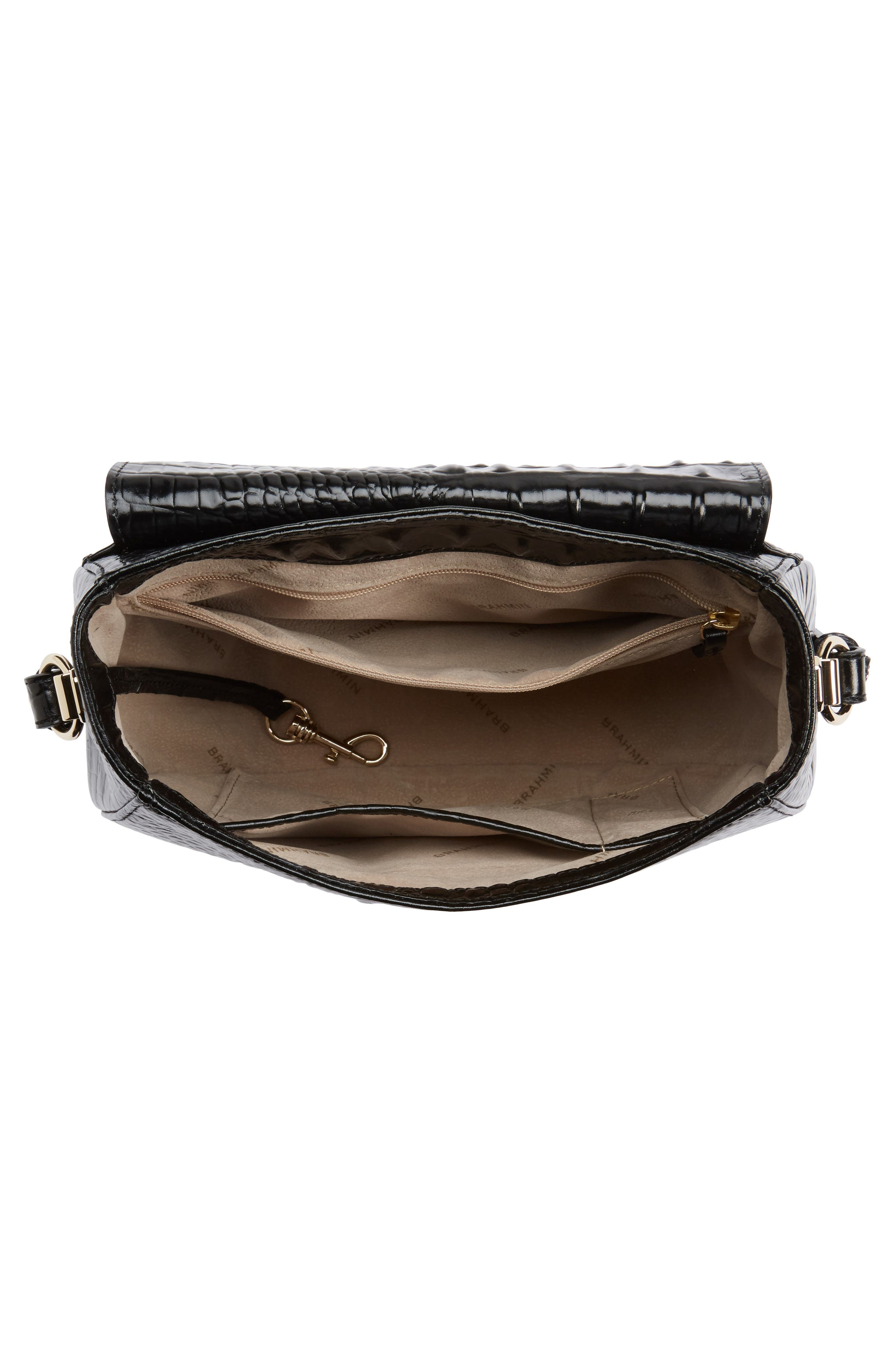 Alternate Image 4  - Brahmin Melbourne - Lizzie Leather Crossbody Bag