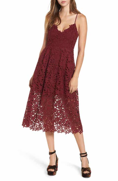 Red Cocktail & Party Dresses | Nordstrom