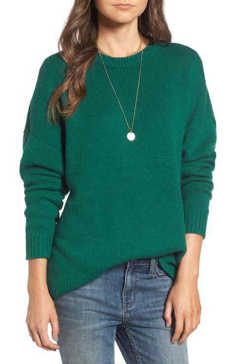 Women's Green Sweaters | Nordstrom