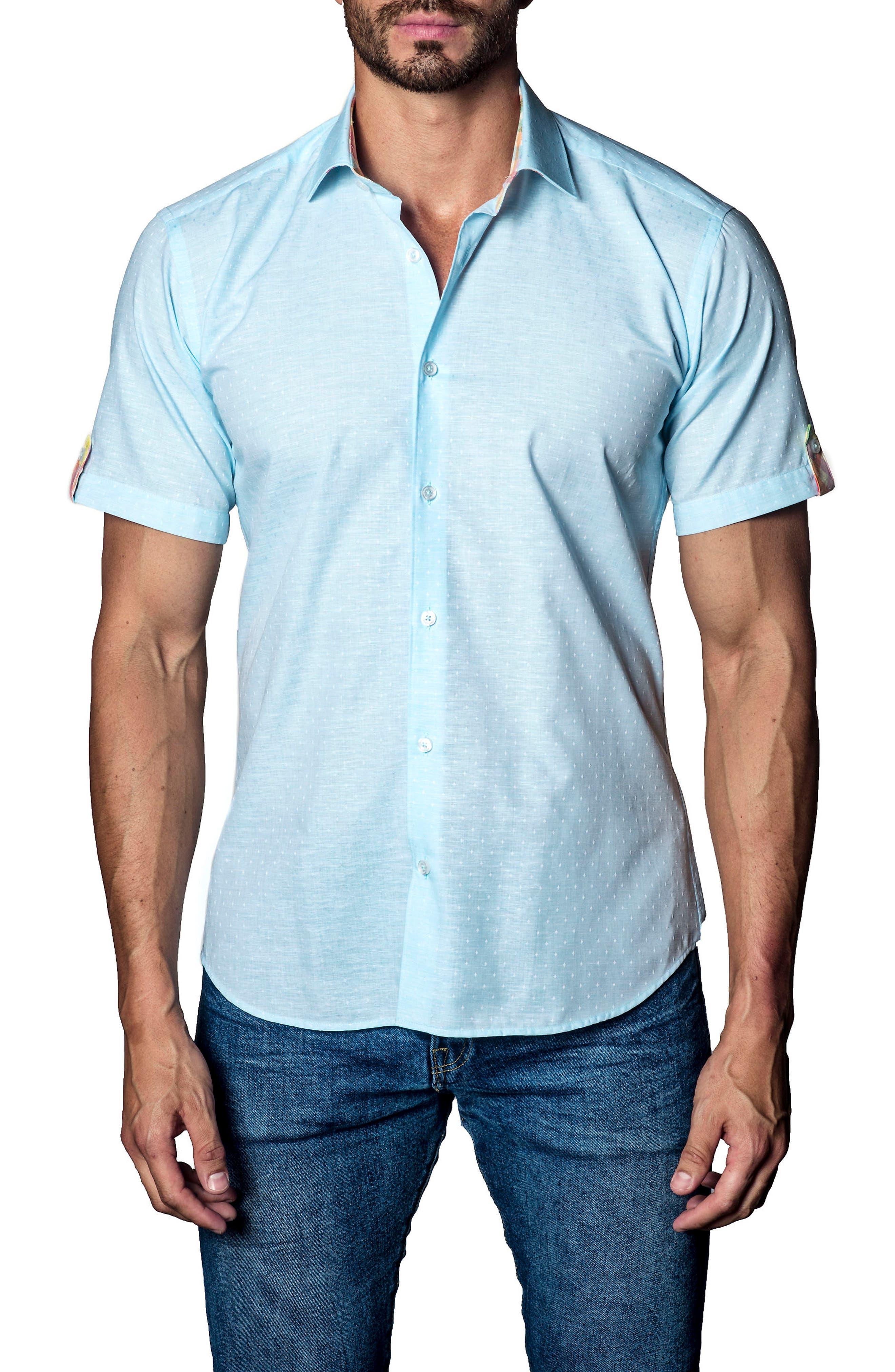Sport Shirt,                             Main thumbnail 1, color,                             Light Blue