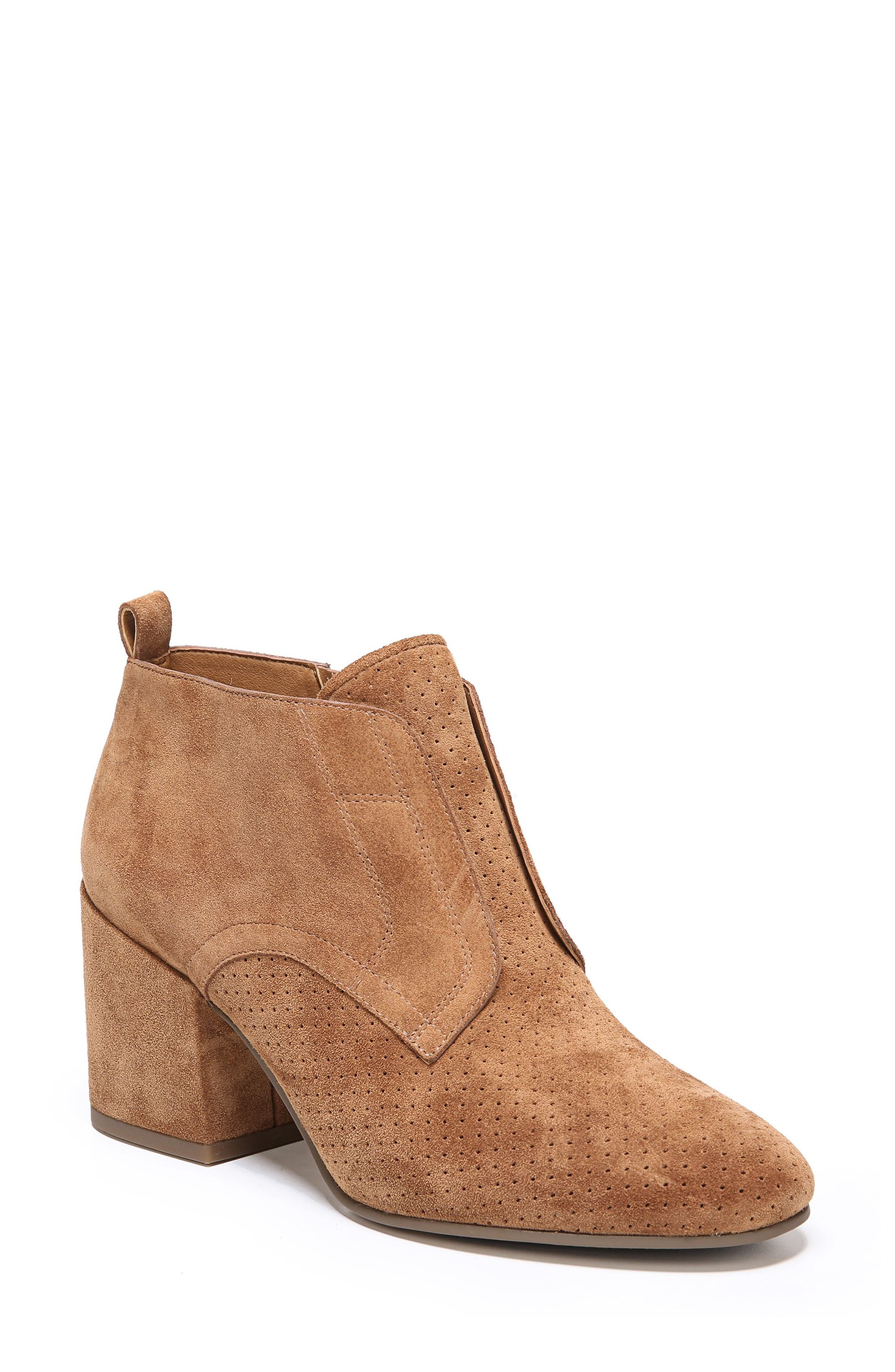Alfie Bootie,                             Main thumbnail 1, color,                             Whiskey Suede