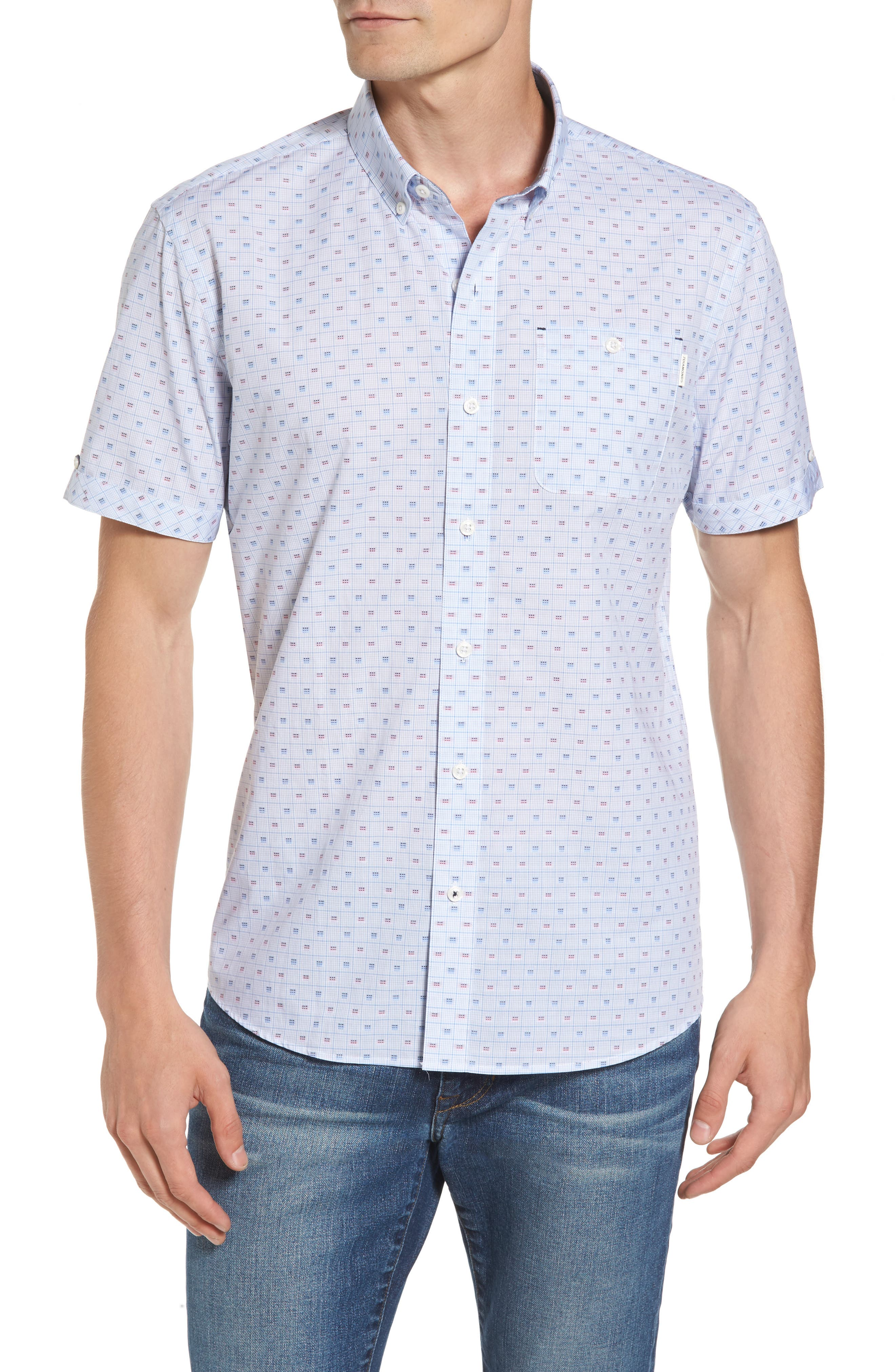 7 Diamonds Atmosphere Woven Shirt