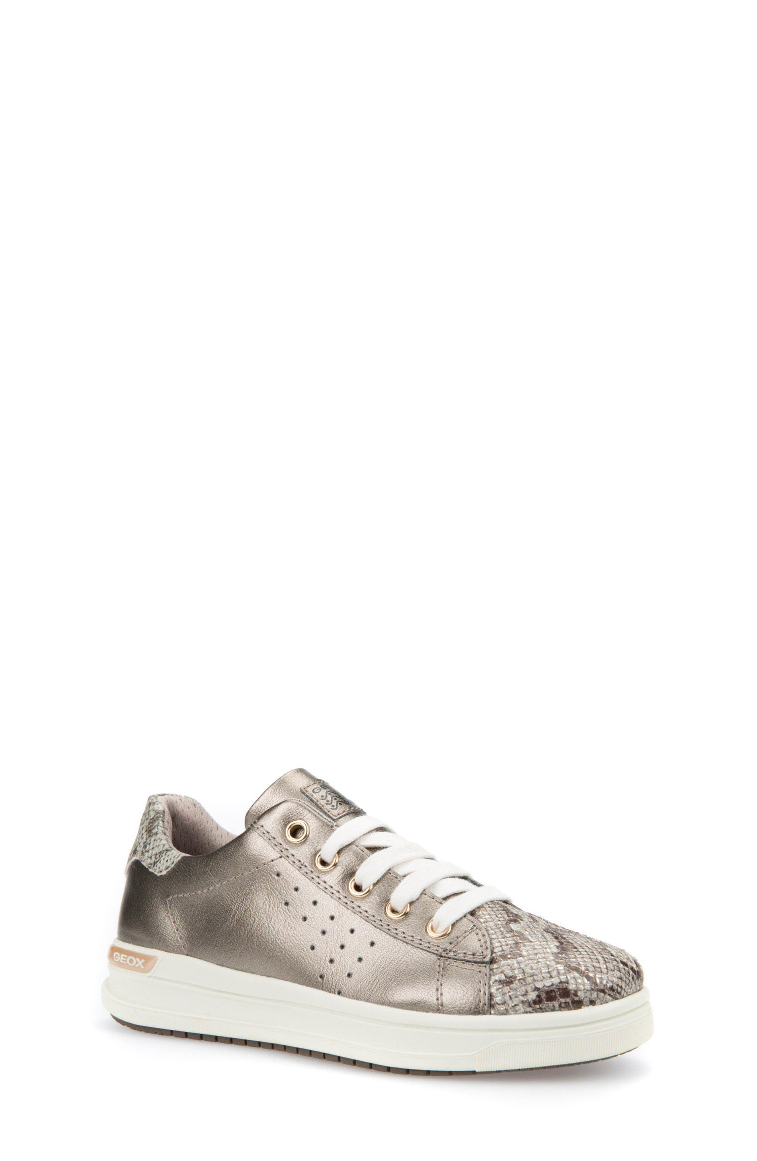 Cave Up Girl Low Top Sneaker,                         Main,                         color, Gold