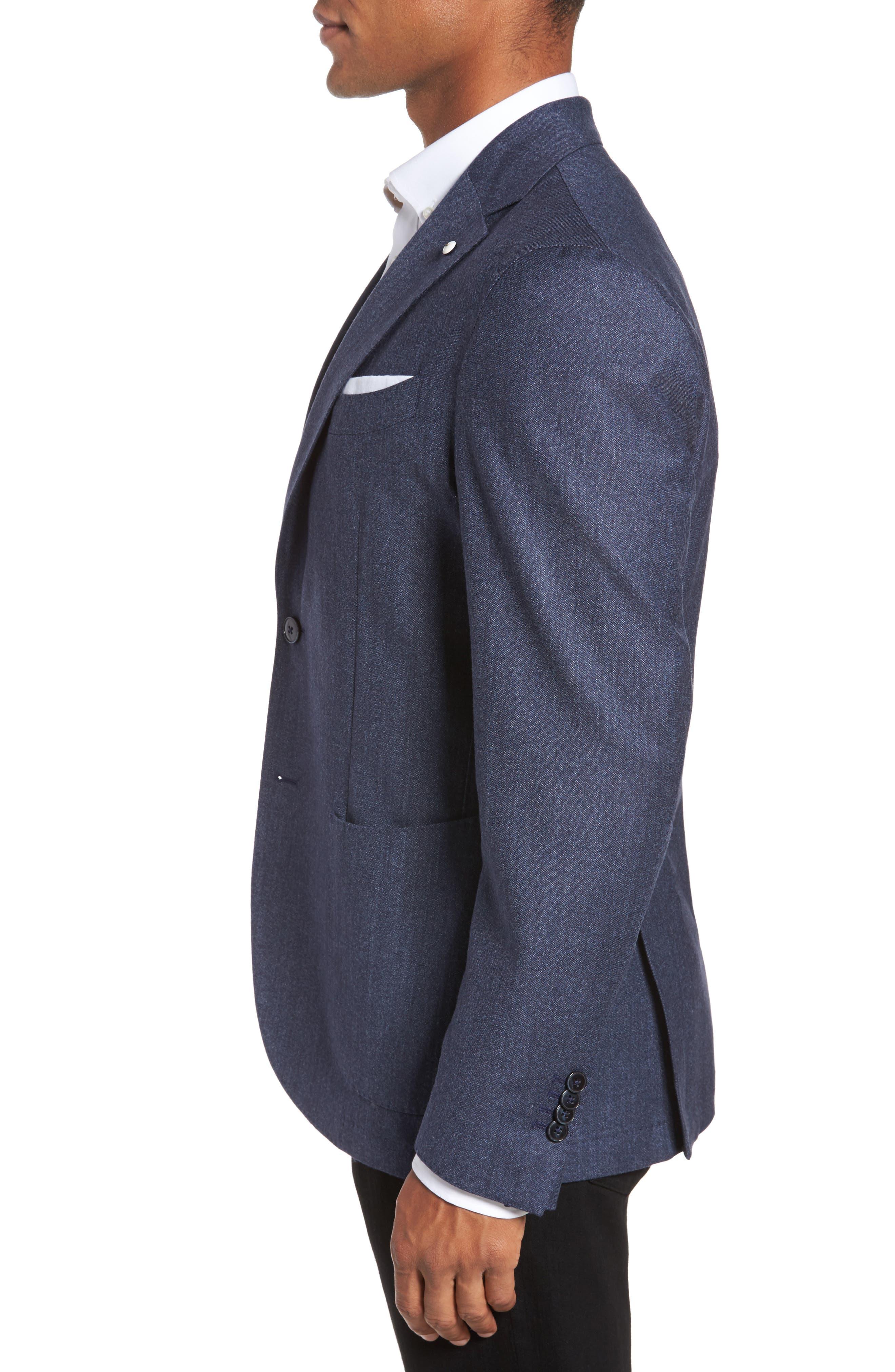 Alternate Image 3  - L.B.M. 1911 Classic Fit Wool Blazer