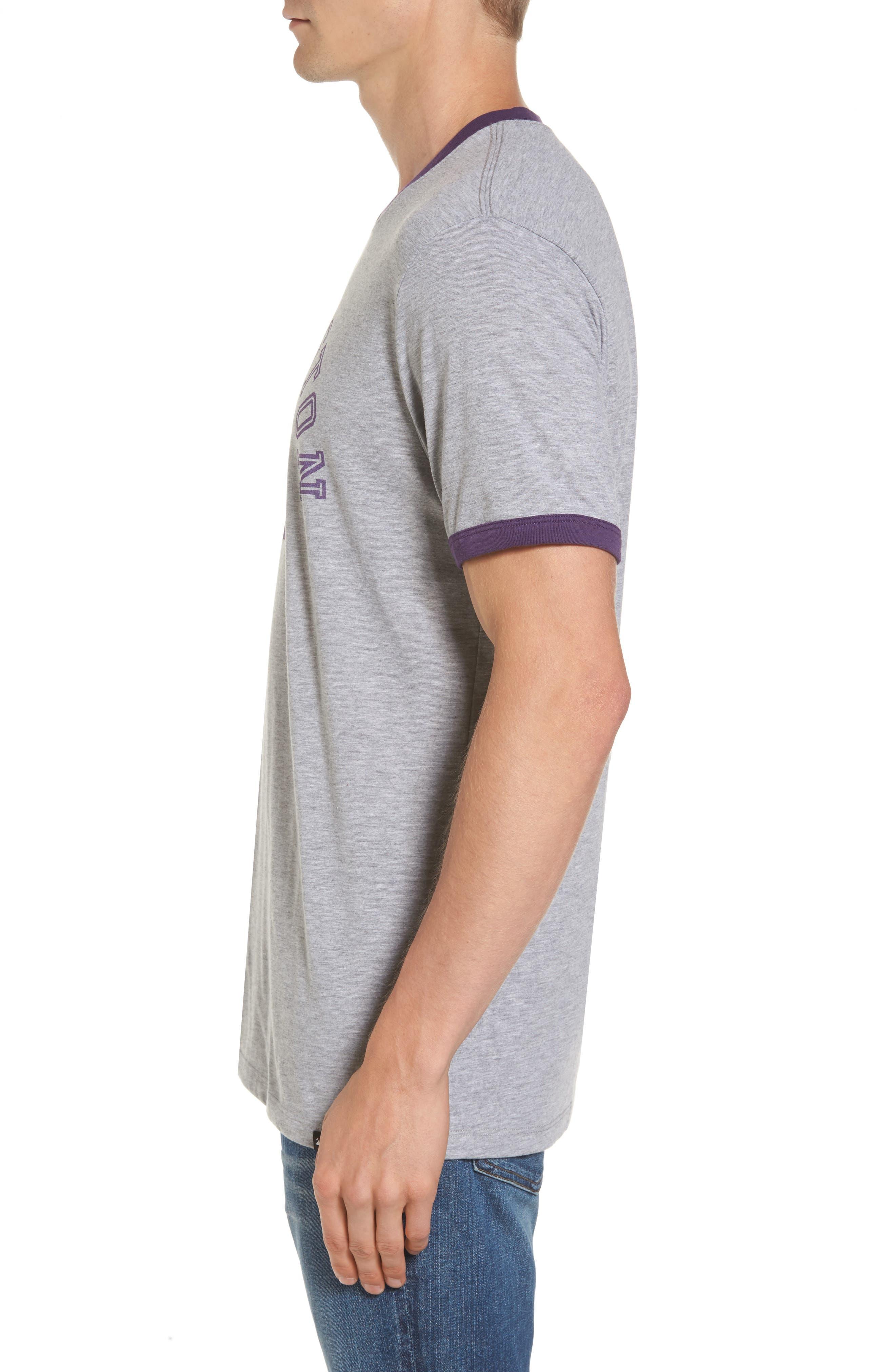 Alternate Image 3  - '47 University of Washington Huskies Ringer T-Shirt