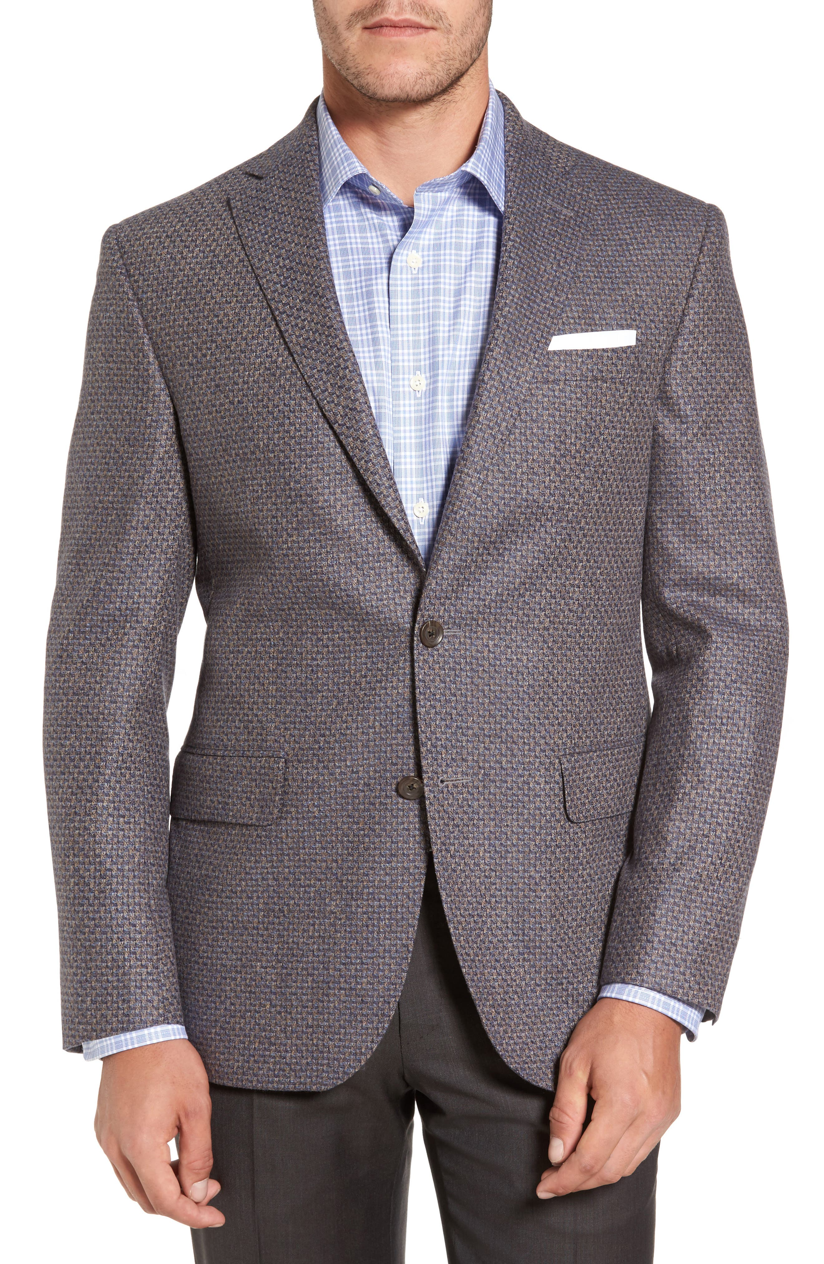 David Donahue Connor Classic Fit Wool Sport Coat