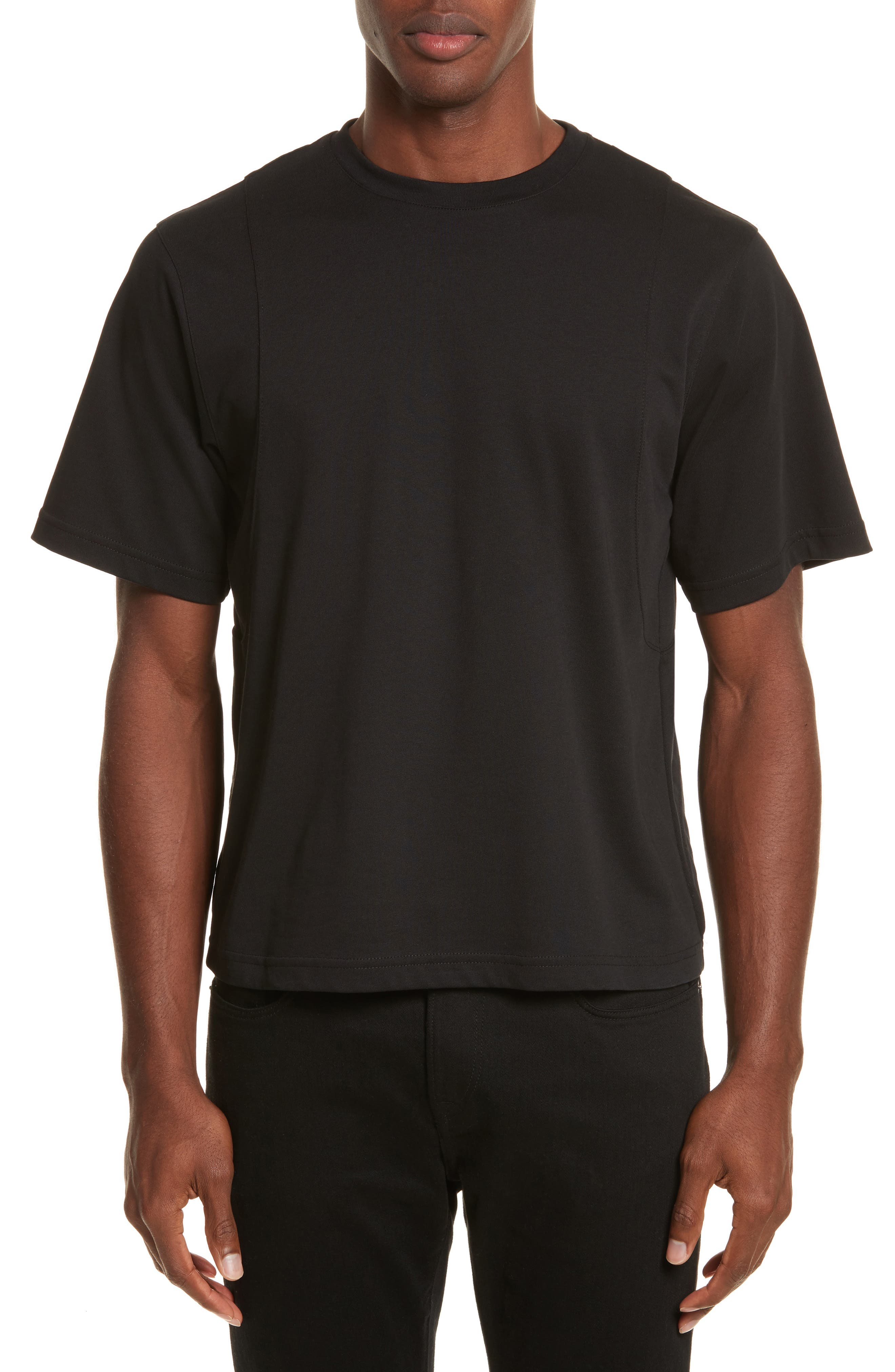 Alternate Image 1 Selected - Helmut Lang Drape Military Jersey T-Shirt