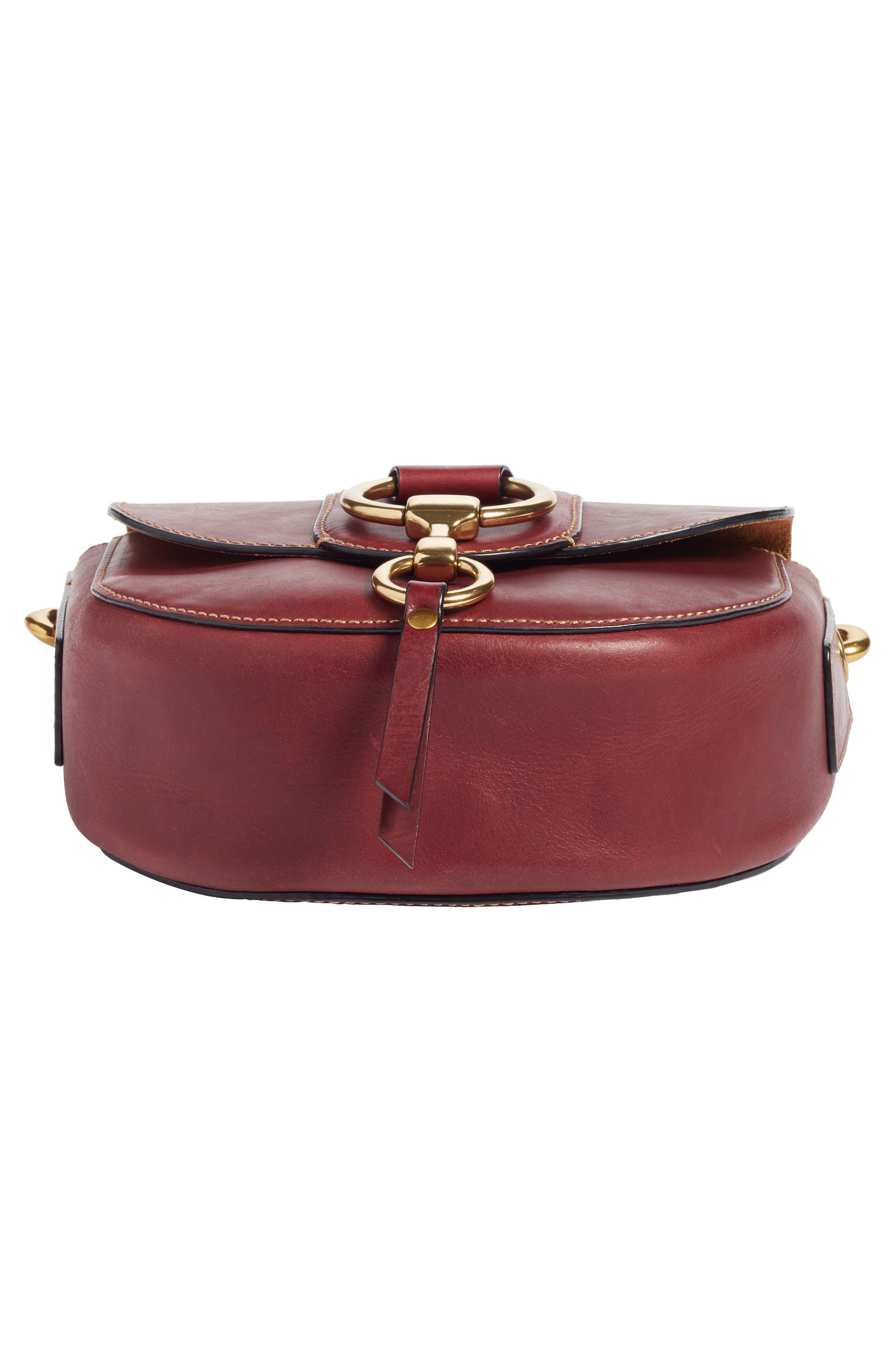 Alternate Image 6  - Frye Small Ilana Harness Leather Saddle Bag