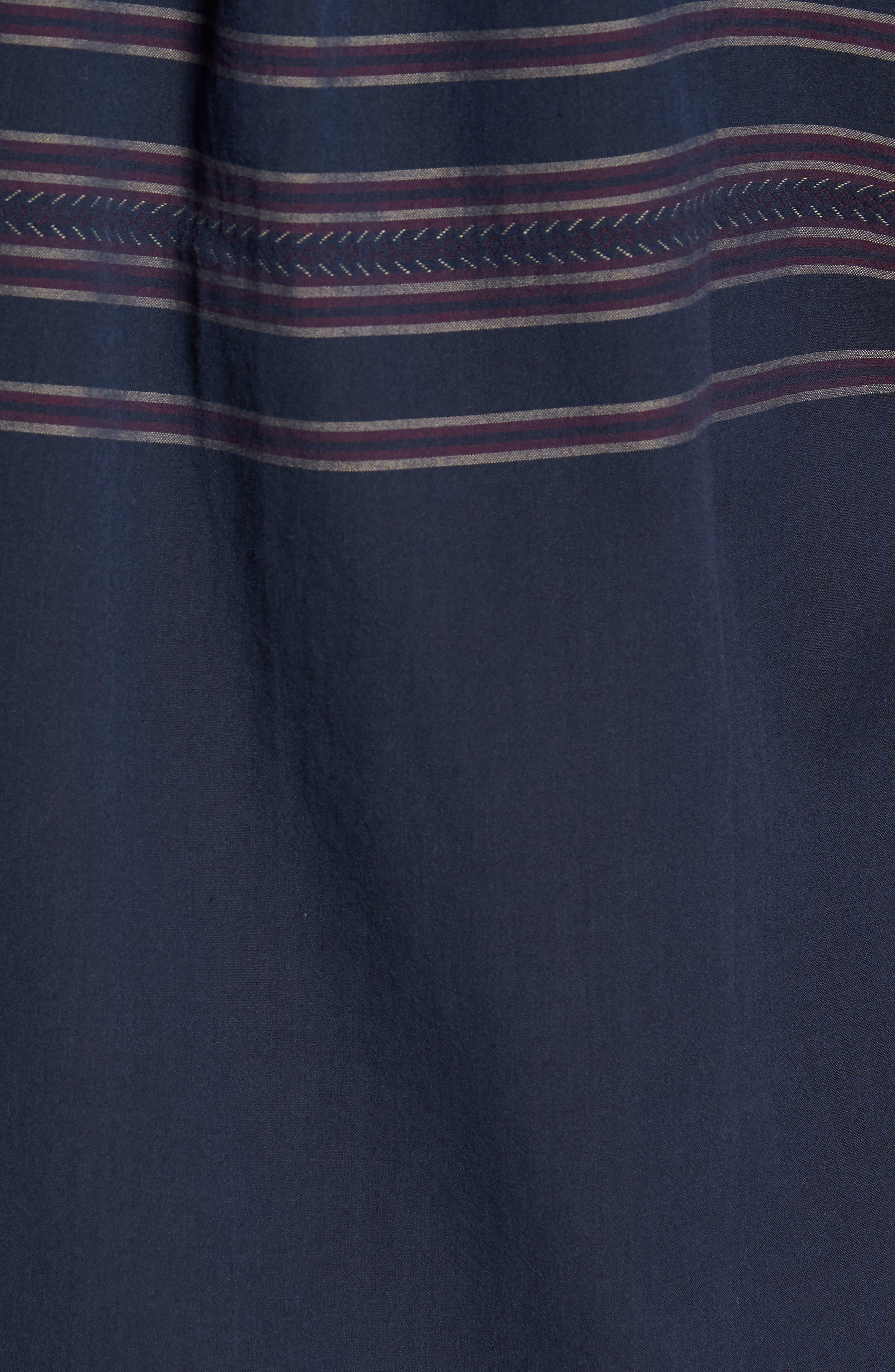 Alternate Image 5  - Vans Benmore Striped Woven Shirt