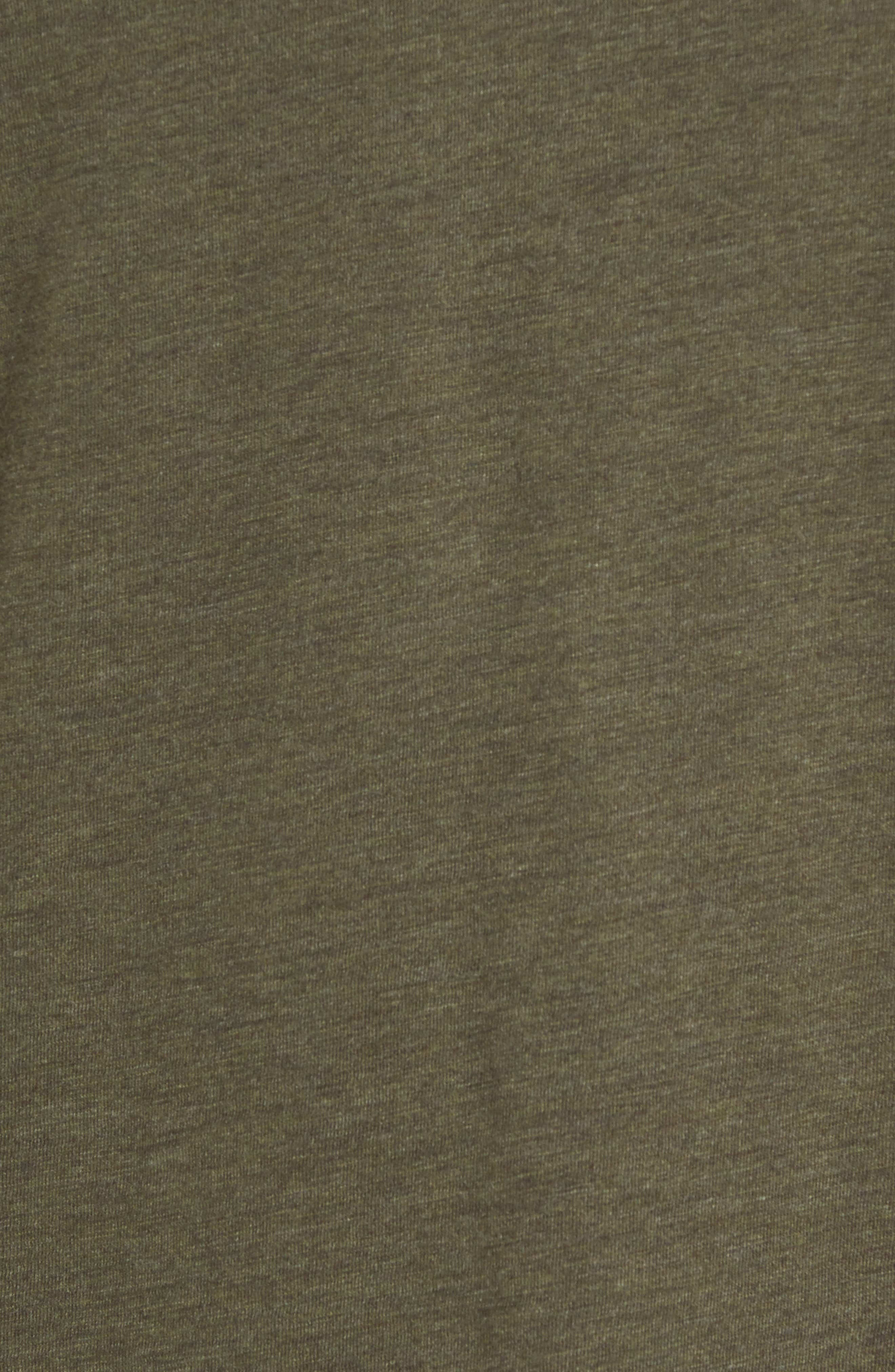 Bing Short Sleeve Henley Shirt,                             Alternate thumbnail 5, color,                             Forest Night