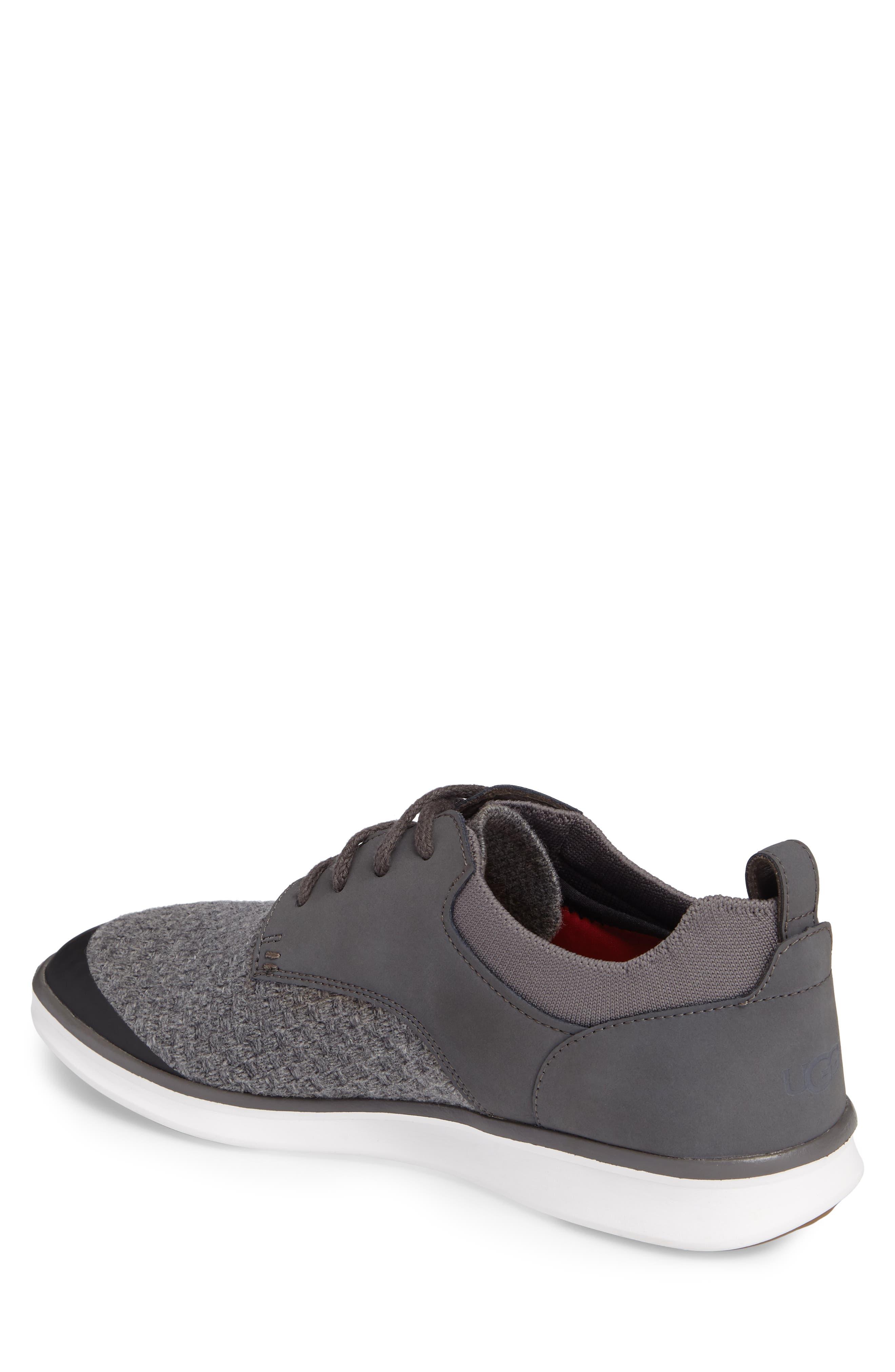 Hepner HyperWeave Sneaker,                             Alternate thumbnail 2, color,                             Dark Charcoal