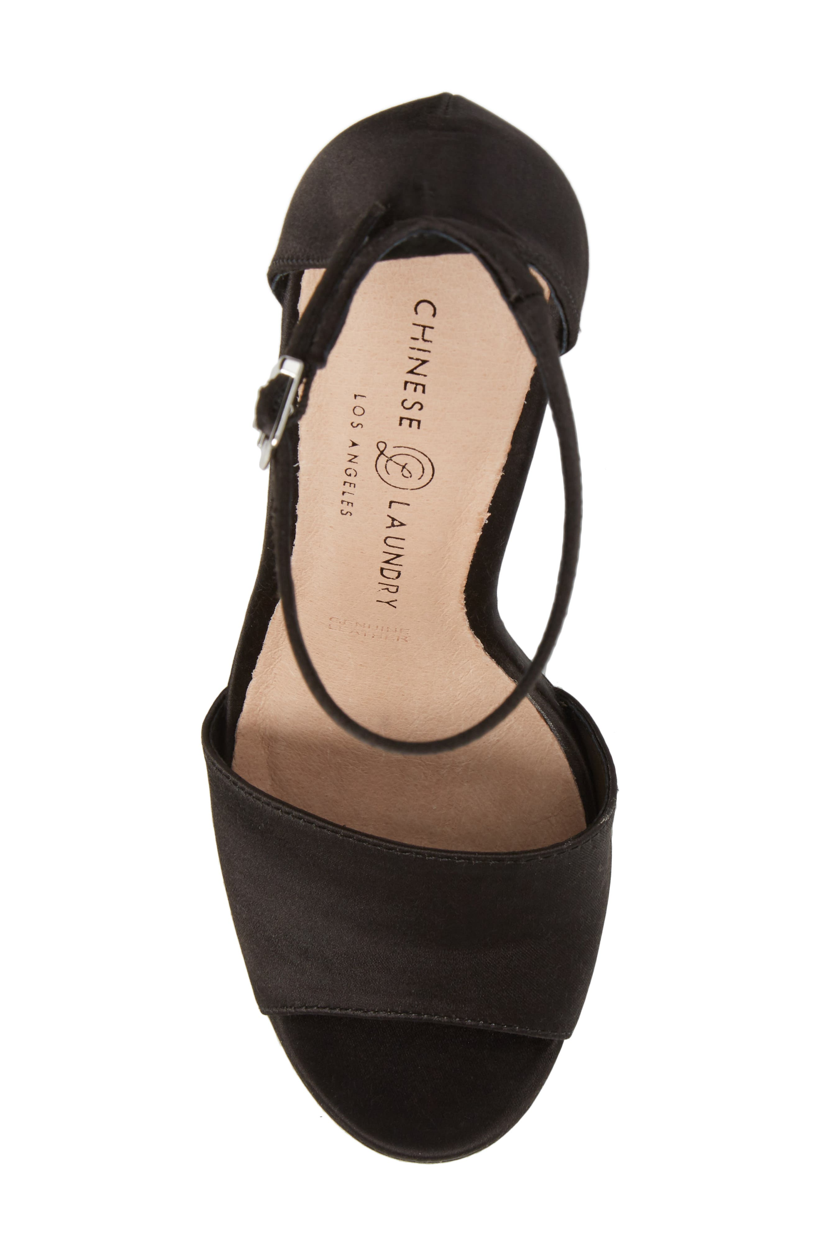 Alternate Image 5  - Chinese Laundry Amy Flower Embroidered Platform Pump (Women)