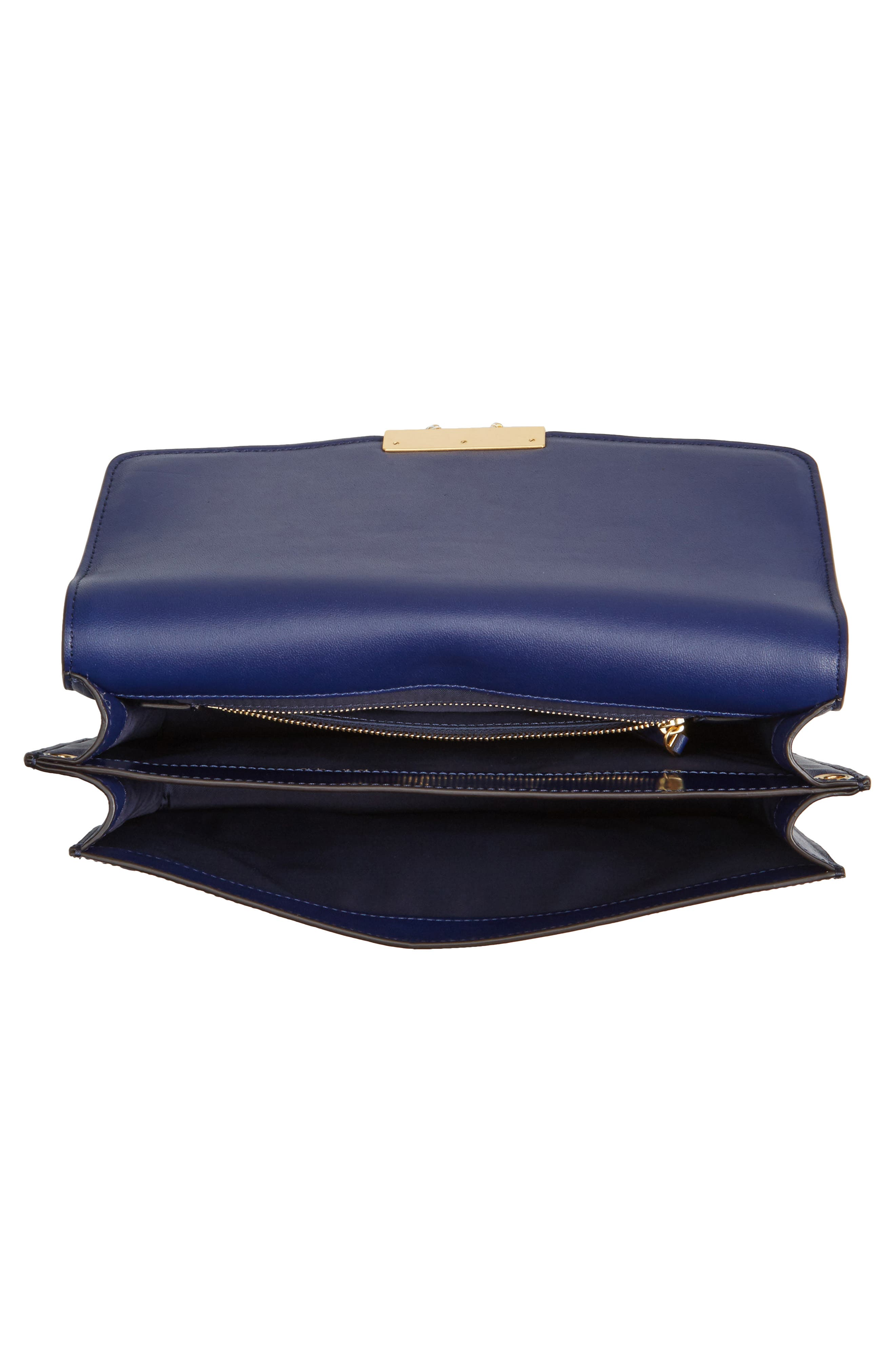 Alternate Image 4  - Tory Burch Juliette Leather Shoulder Bag