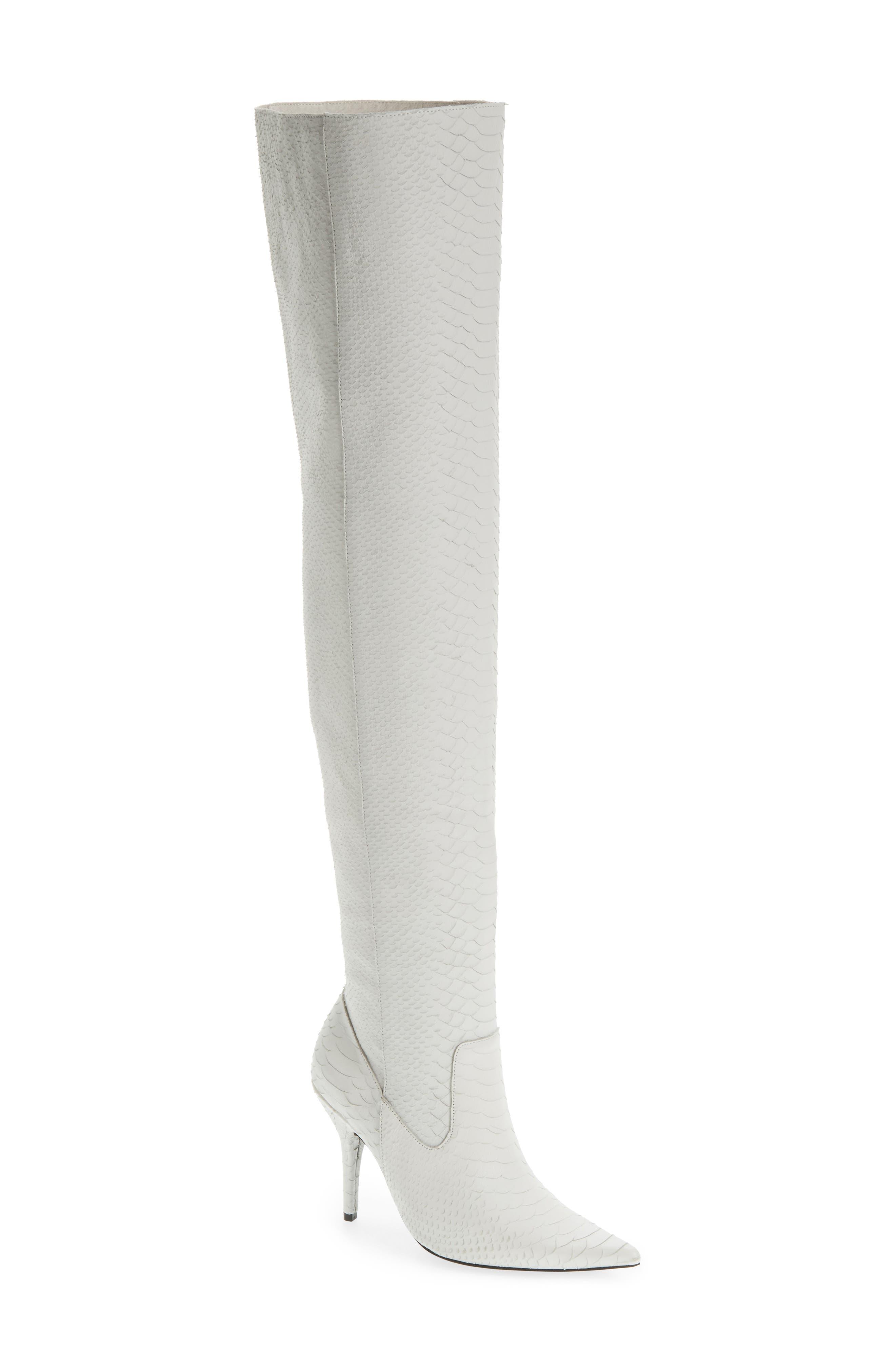 Jeffrey Campbell Galactic Thigh High Boot (Women)