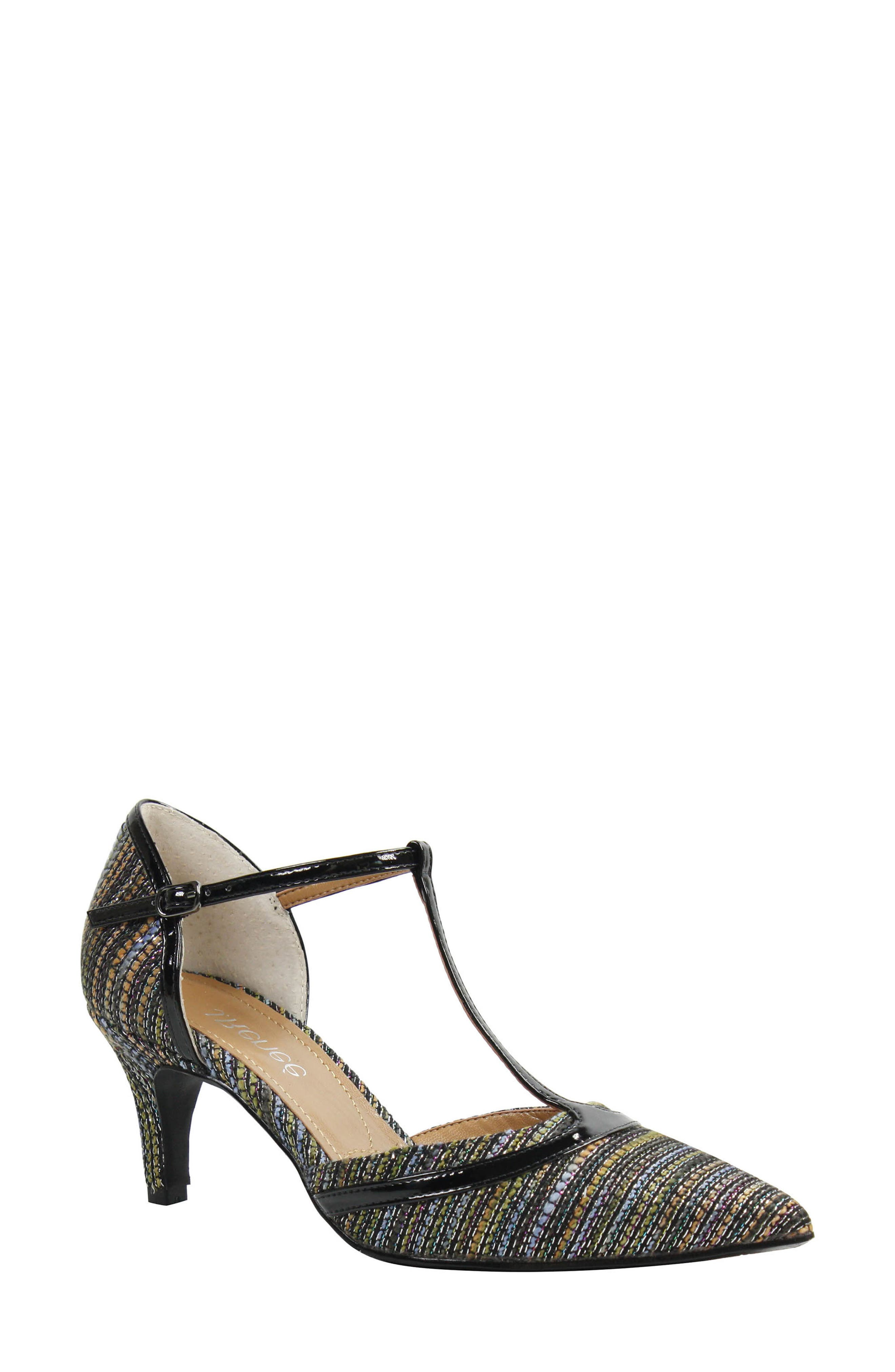 J. Reneé Emiliana T-Strap Pump (Women)