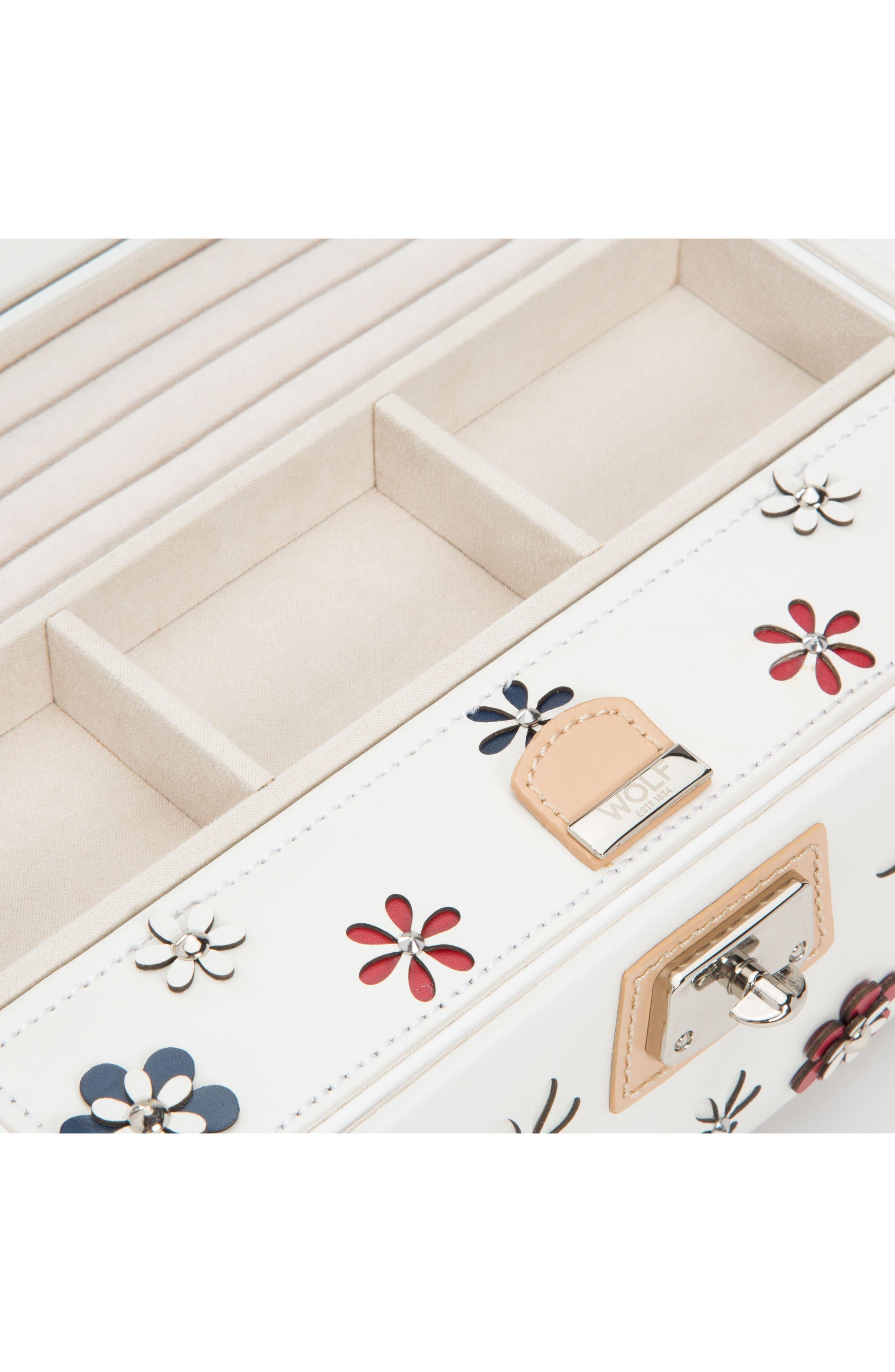 Alternate Image 3  - Wolf Medium Blossom Jewelry Box