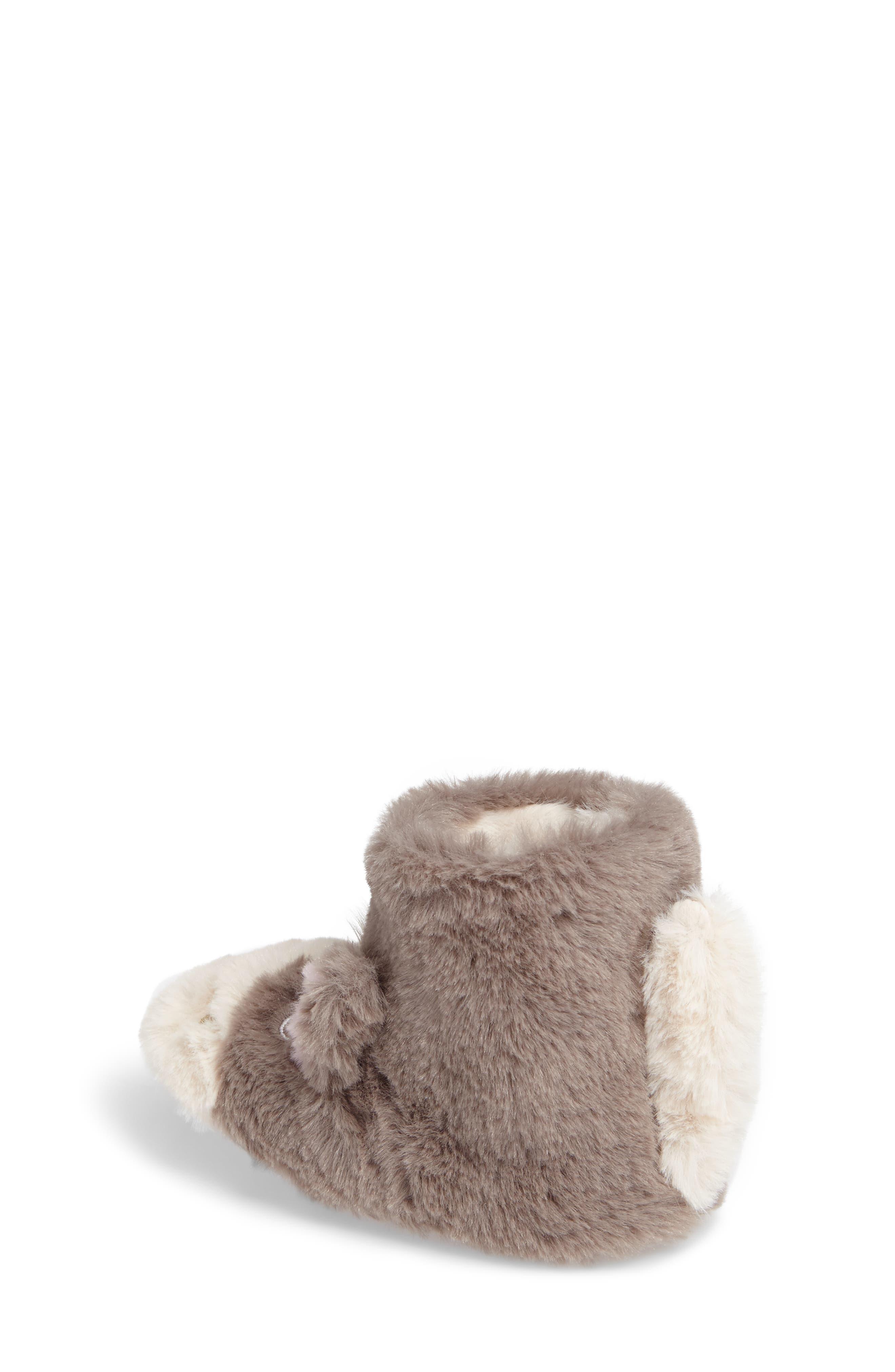 Alternate Image 2  - Mini Boden Faux Fur Horse Slipper (Toddler)