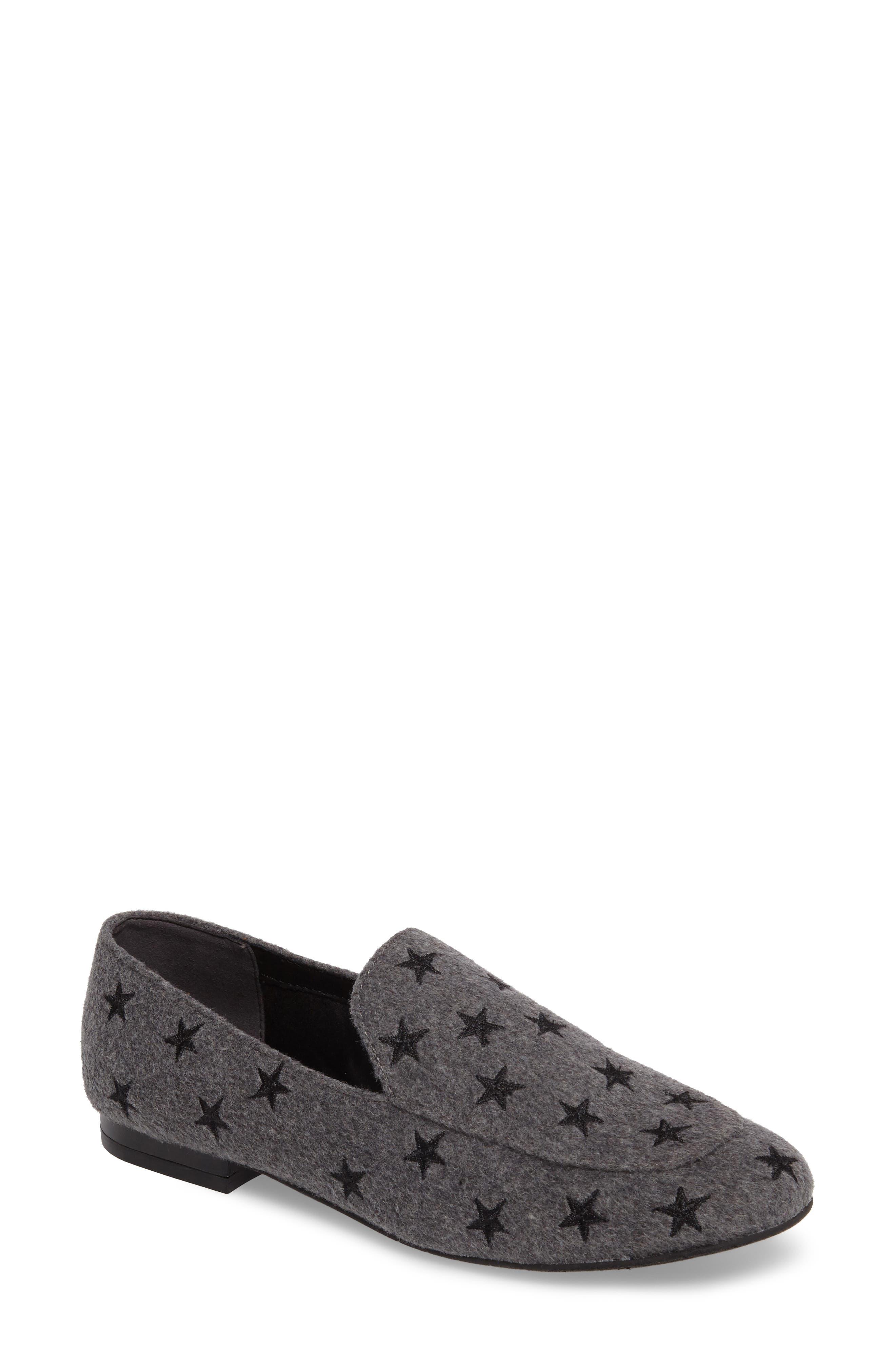 Westley 5 Loafer,                         Main,                         color, Grey Felt Fabric