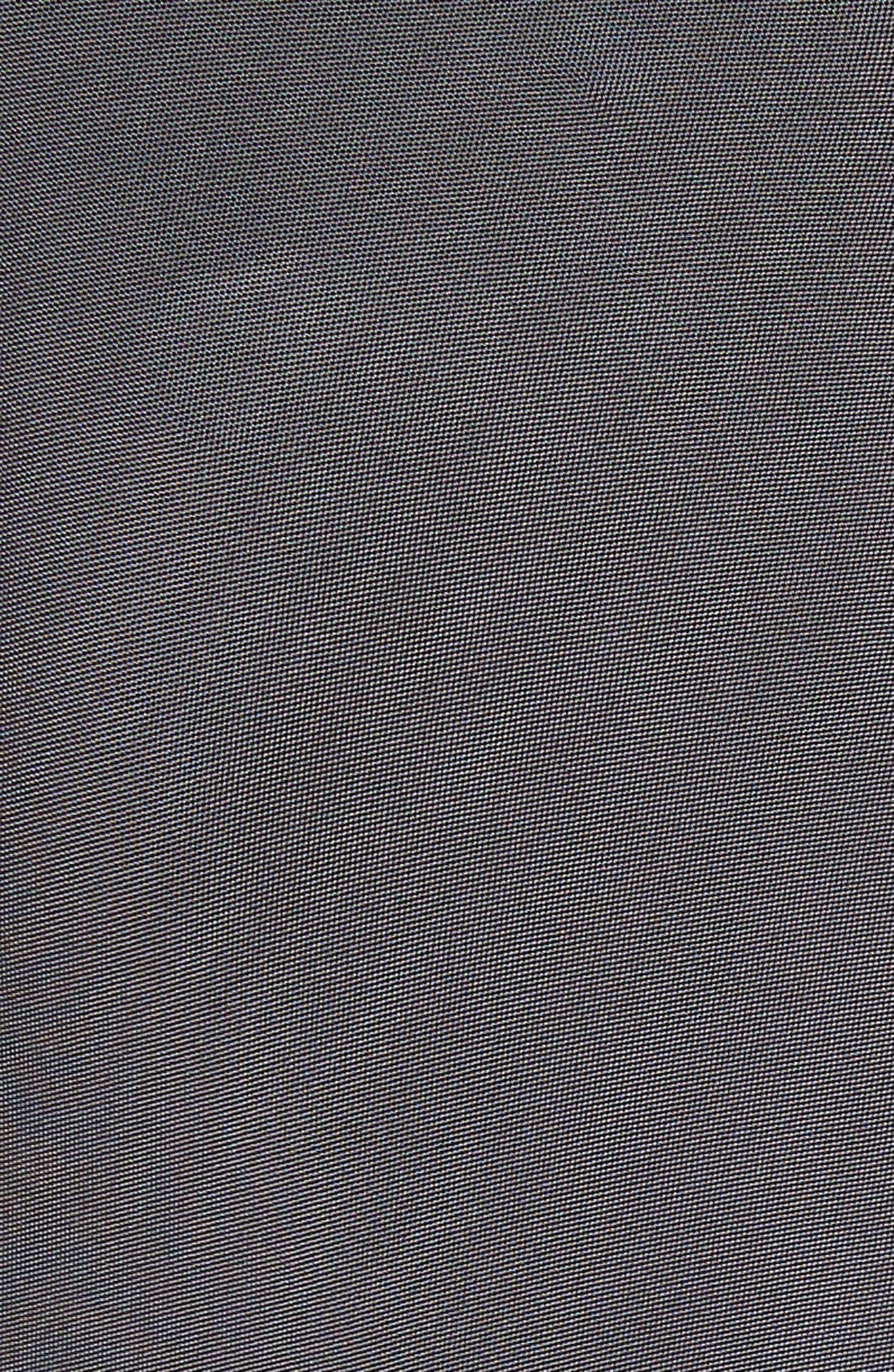 Magdelena Ring Detail Jersey Dress,                             Alternate thumbnail 6, color,                             Graphite/ Gold