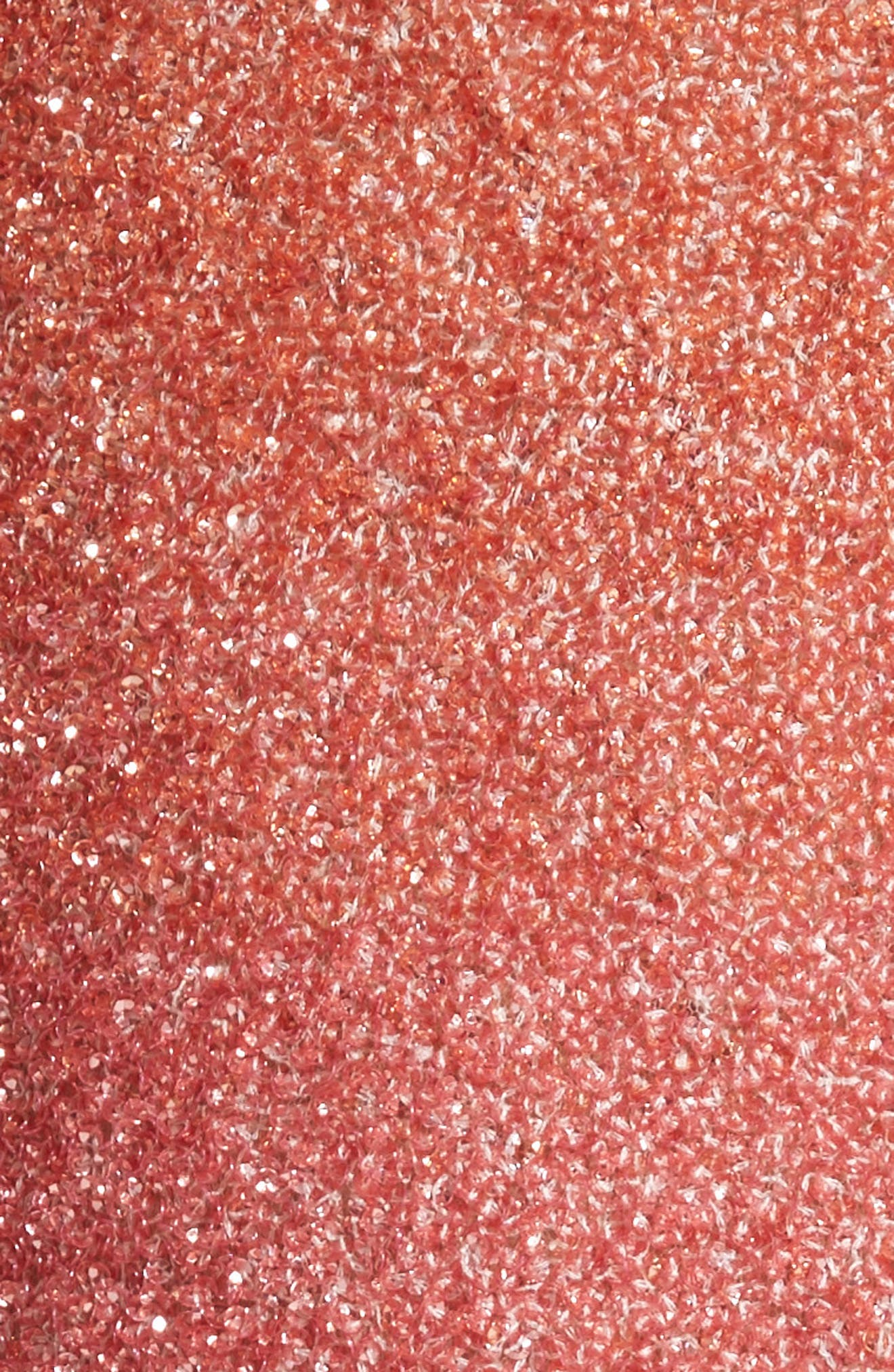 Signature Sequin Cocktail Dress,                             Alternate thumbnail 6, color,                             Coral