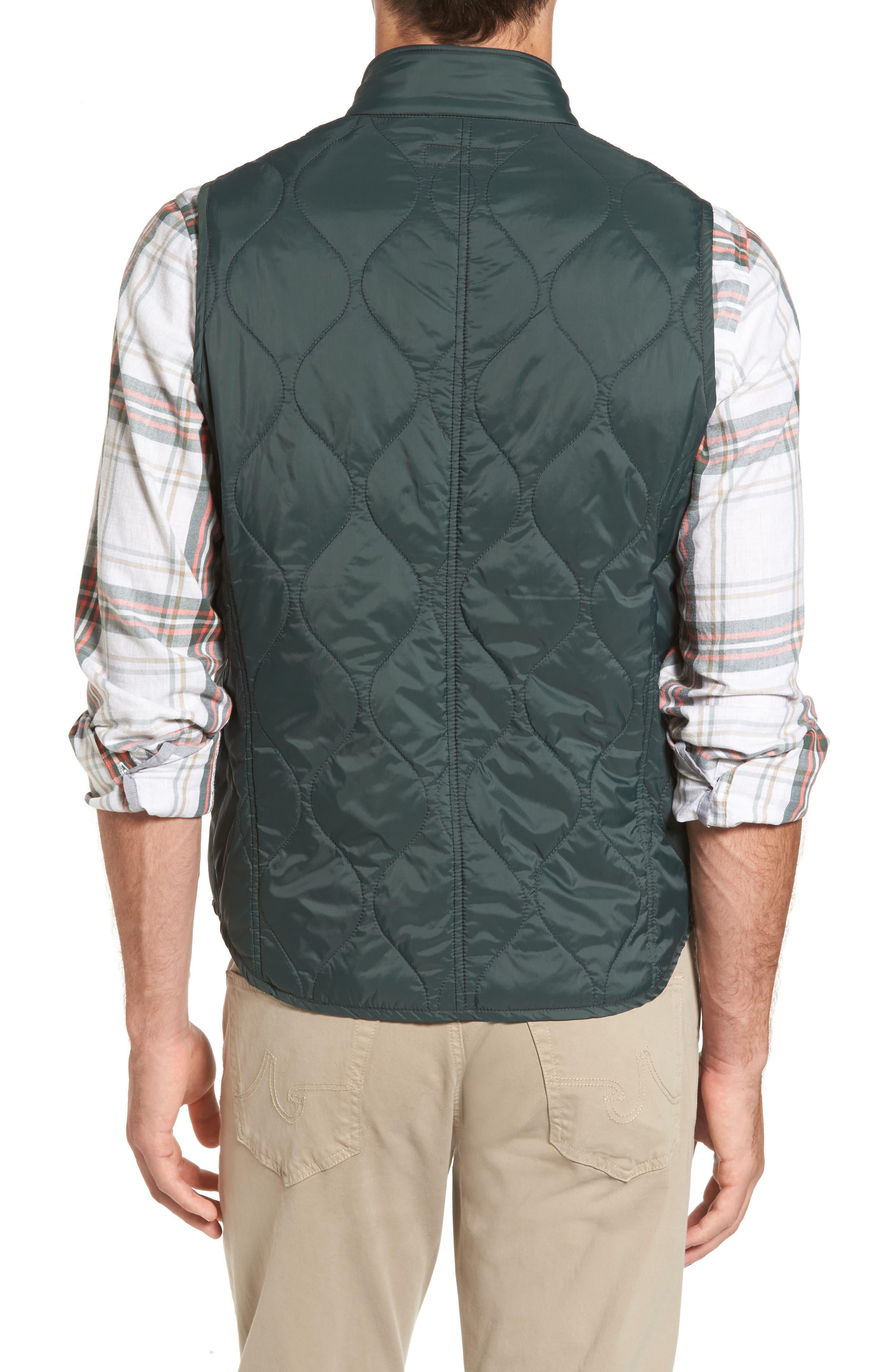 Alternate Image 2  - Michael Bastian Nylon Quilted Vest