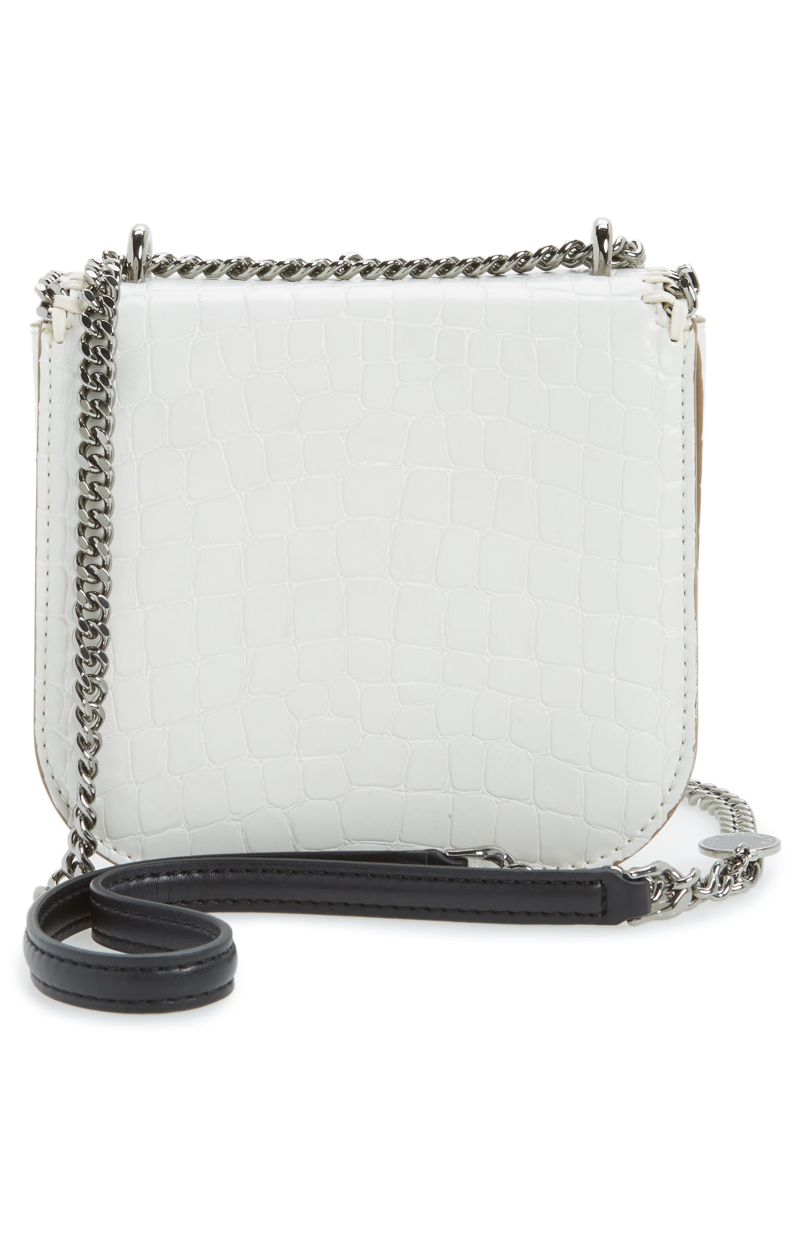 Alternate Image 2  - Stella McCartney Mini Falabella Faux Leather Box Satchel
